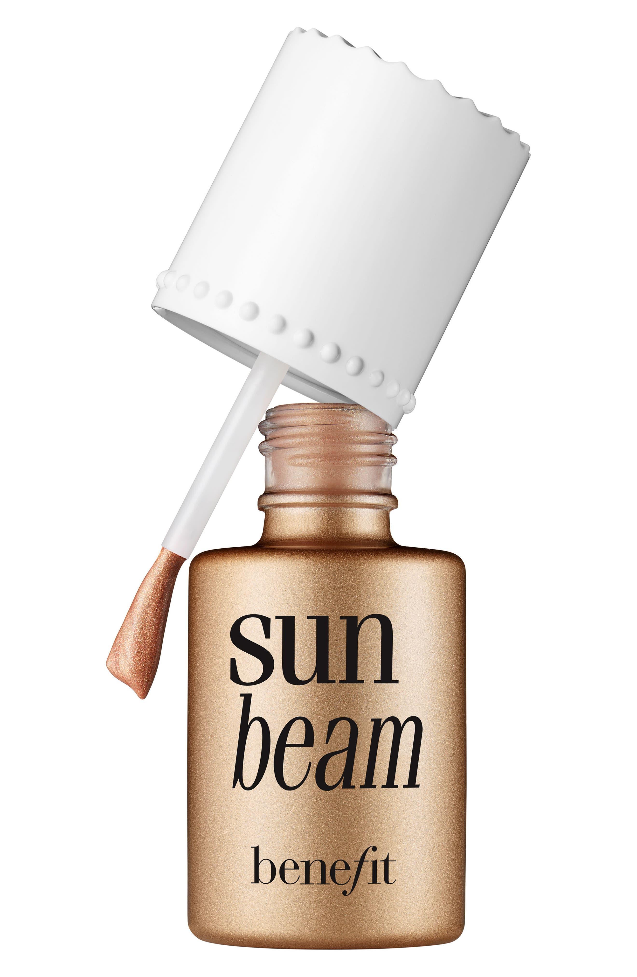 Benefit Sun Beam Golden Bronze Liquid Highlighter,                             Main thumbnail 1, color,                             GOLDEN BRONZE