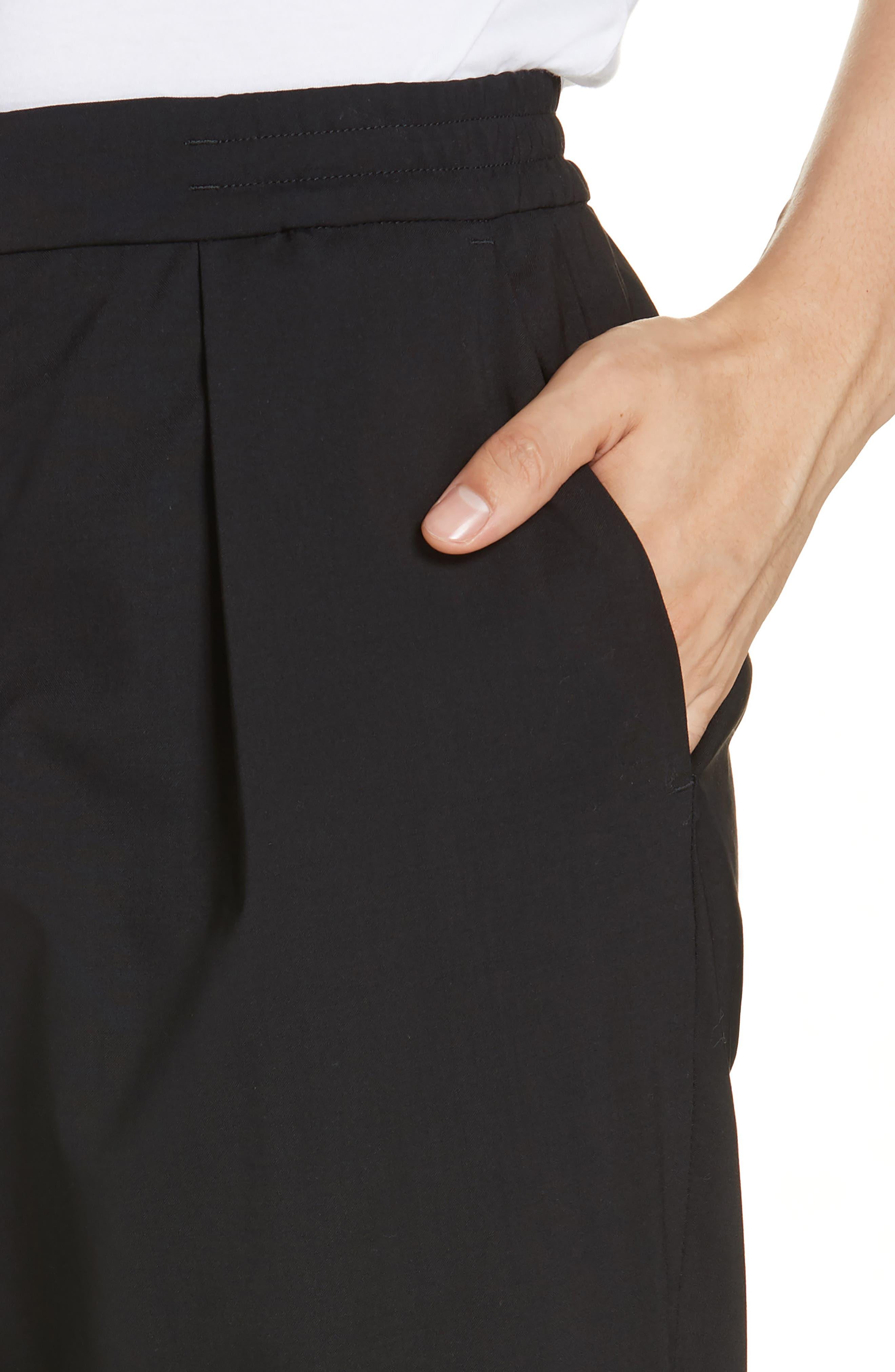 Barena Venzia Tropical Wool Pants,                             Alternate thumbnail 4, color,                             001