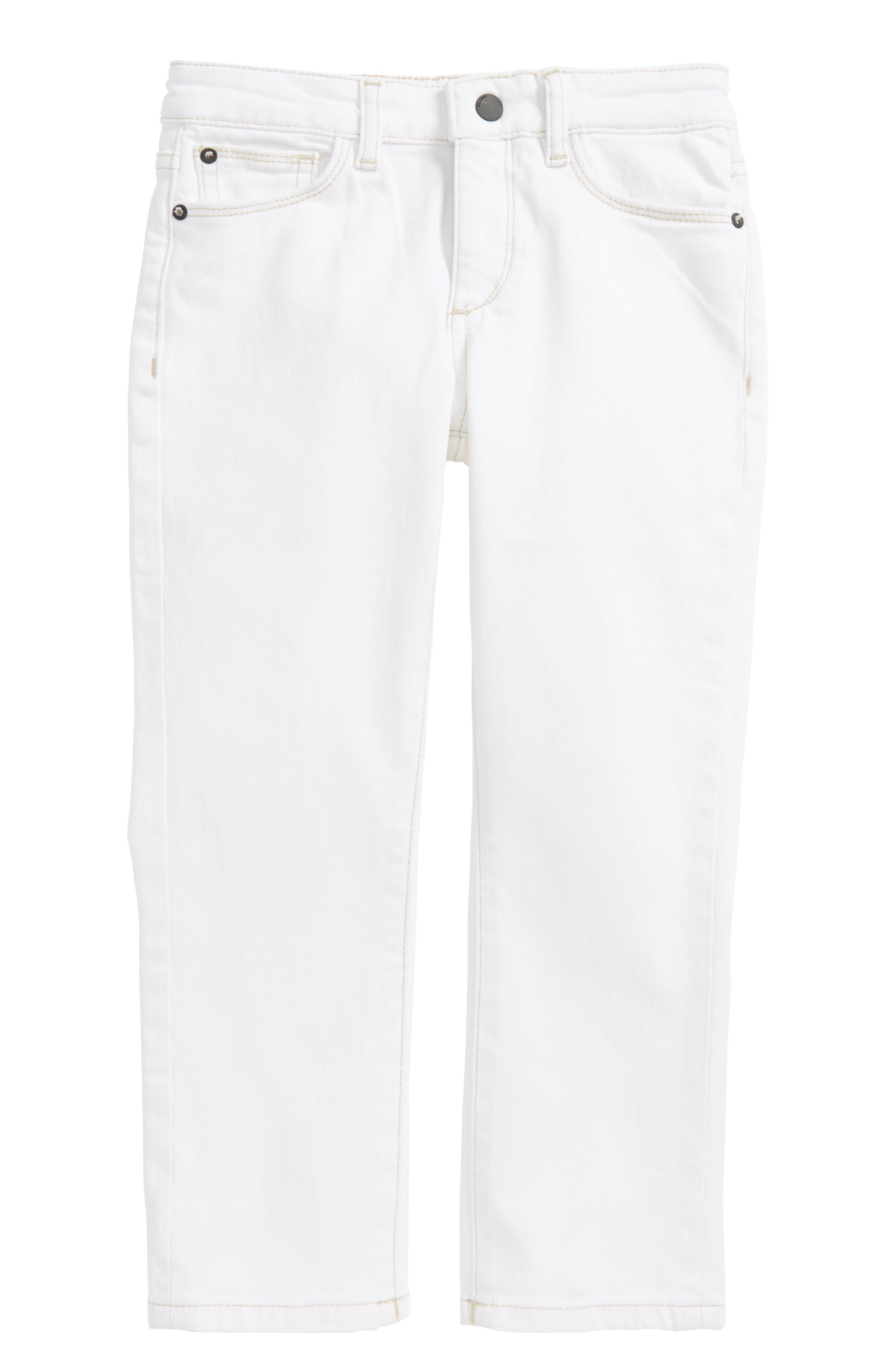Brady Slim Fit Straight Leg Jeans,                             Main thumbnail 1, color,                             100