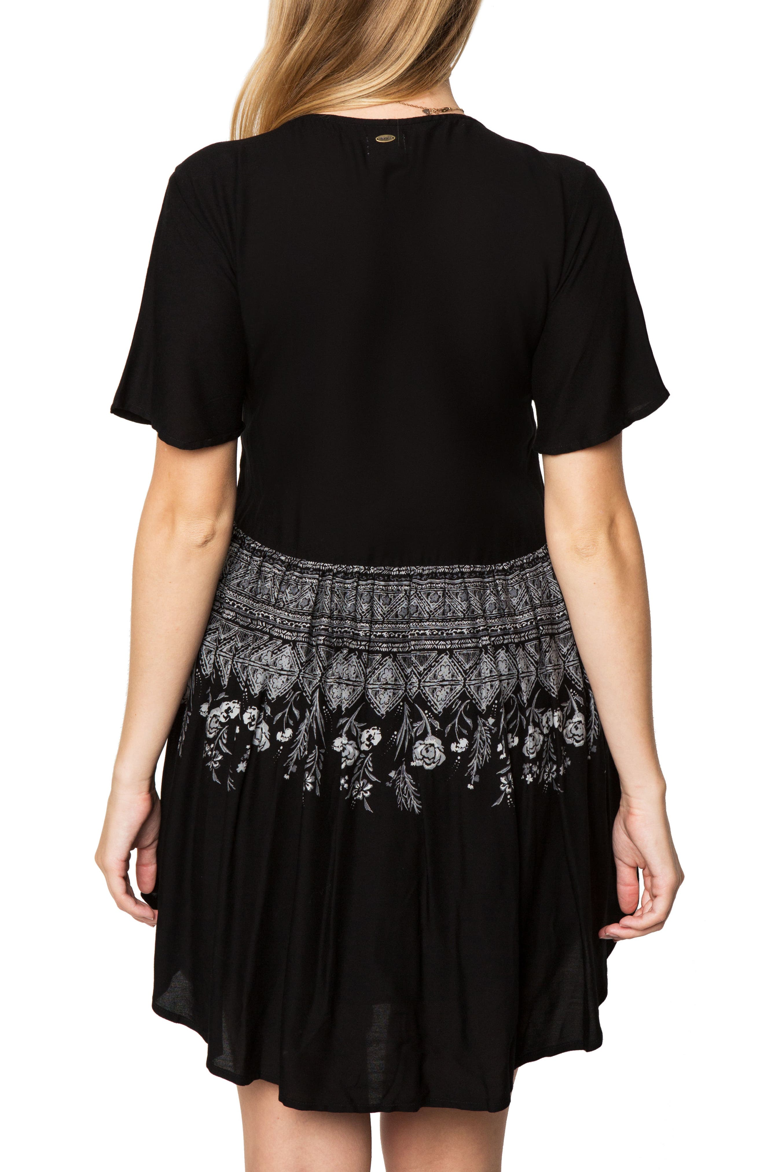 Clovis Print Woven Dress,                             Alternate thumbnail 2, color,                             001