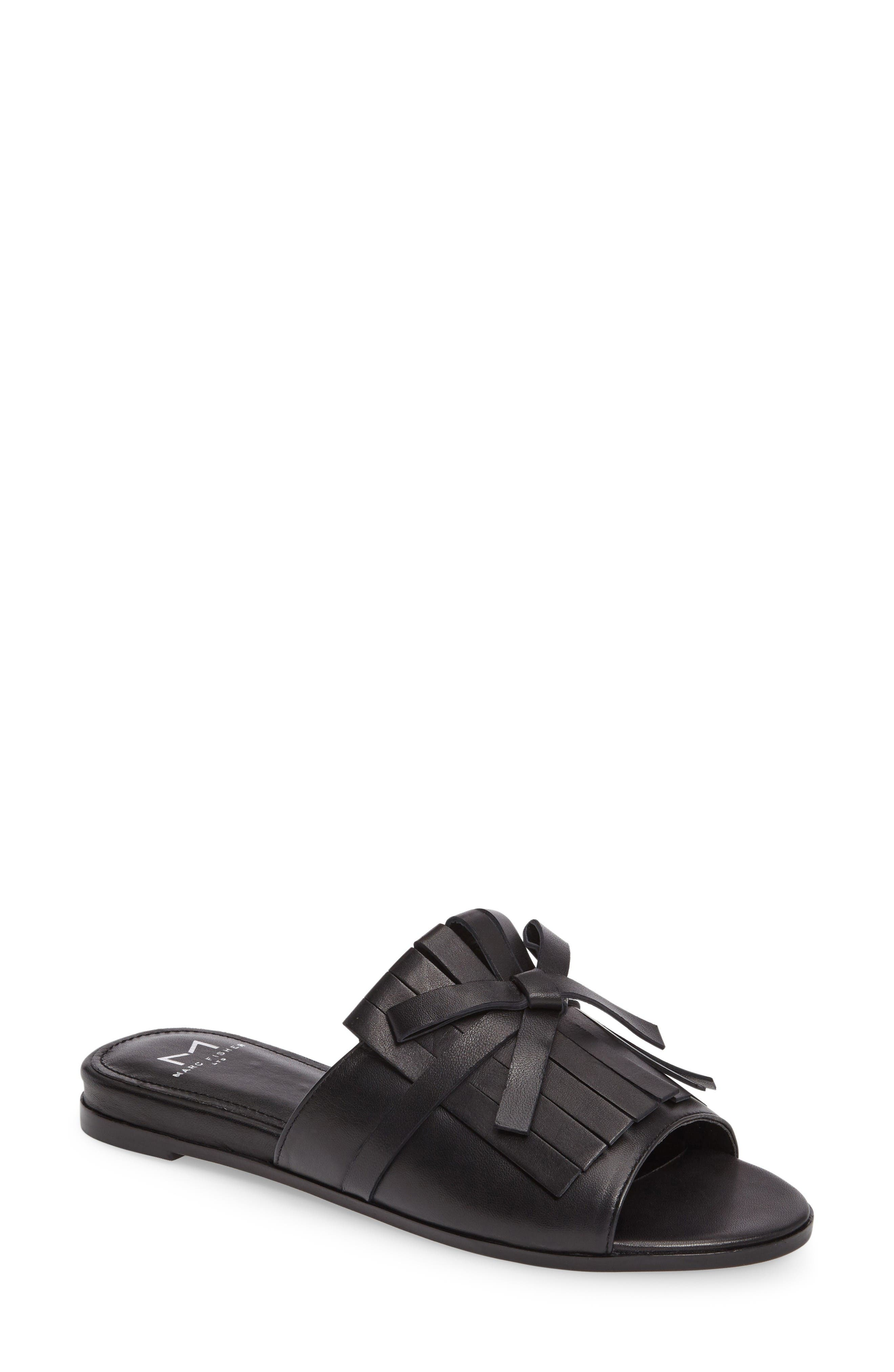 Whitley Slide Sandal,                             Main thumbnail 1, color,                             001