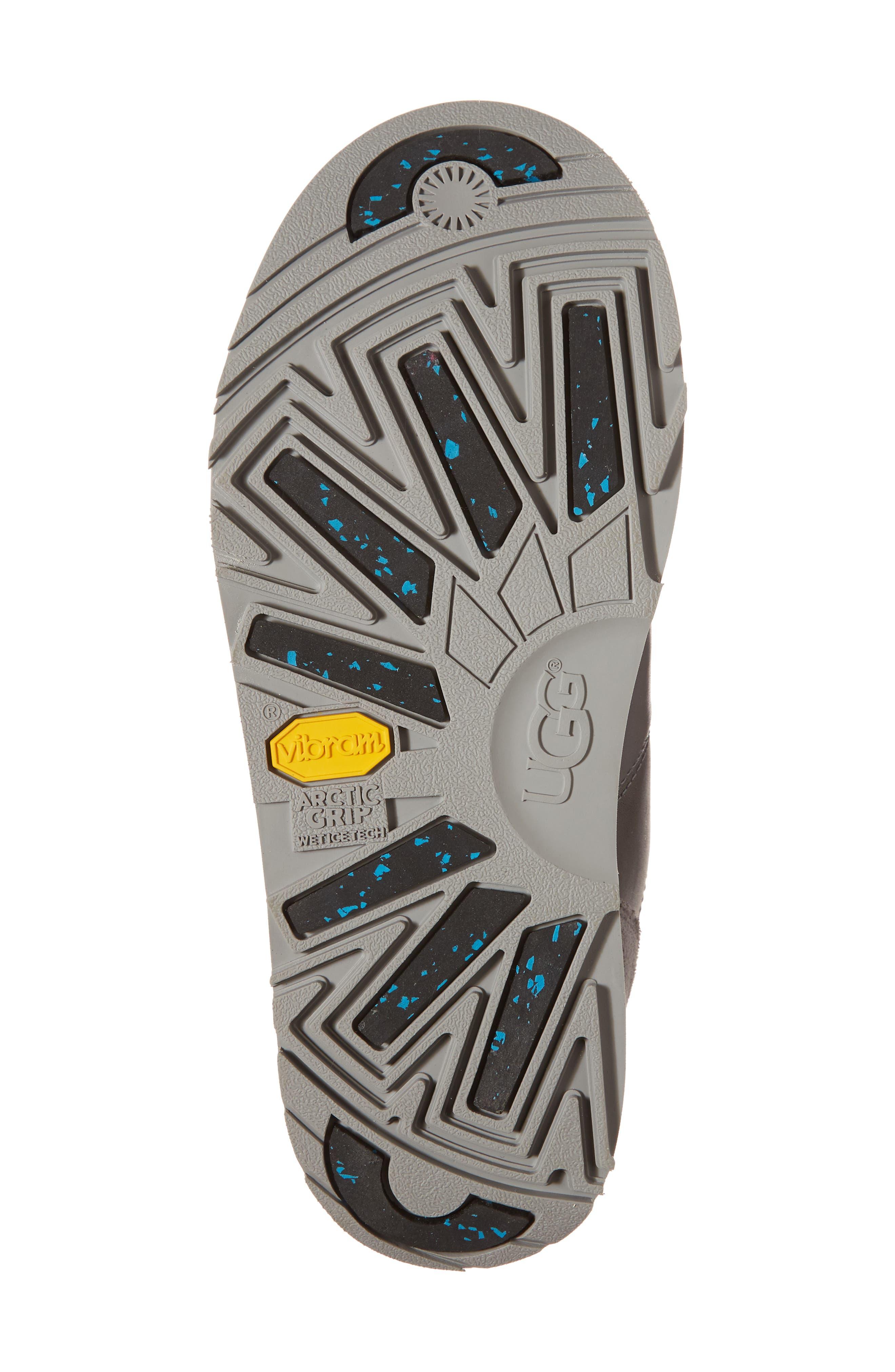 Viki Waterproof Boot,                             Alternate thumbnail 6, color,                             METAL LEATHER