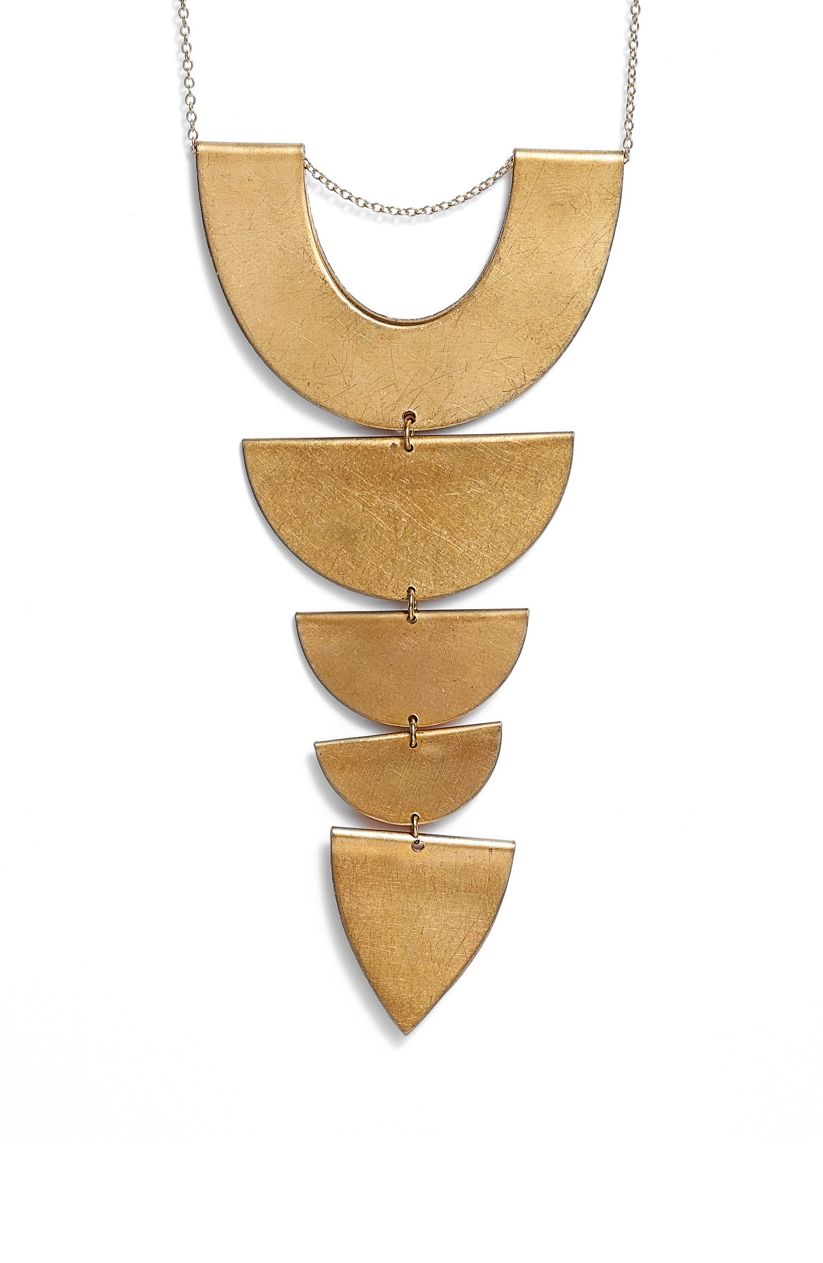 Tiered Pendant Necklace,                             Alternate thumbnail 2, color,                             710