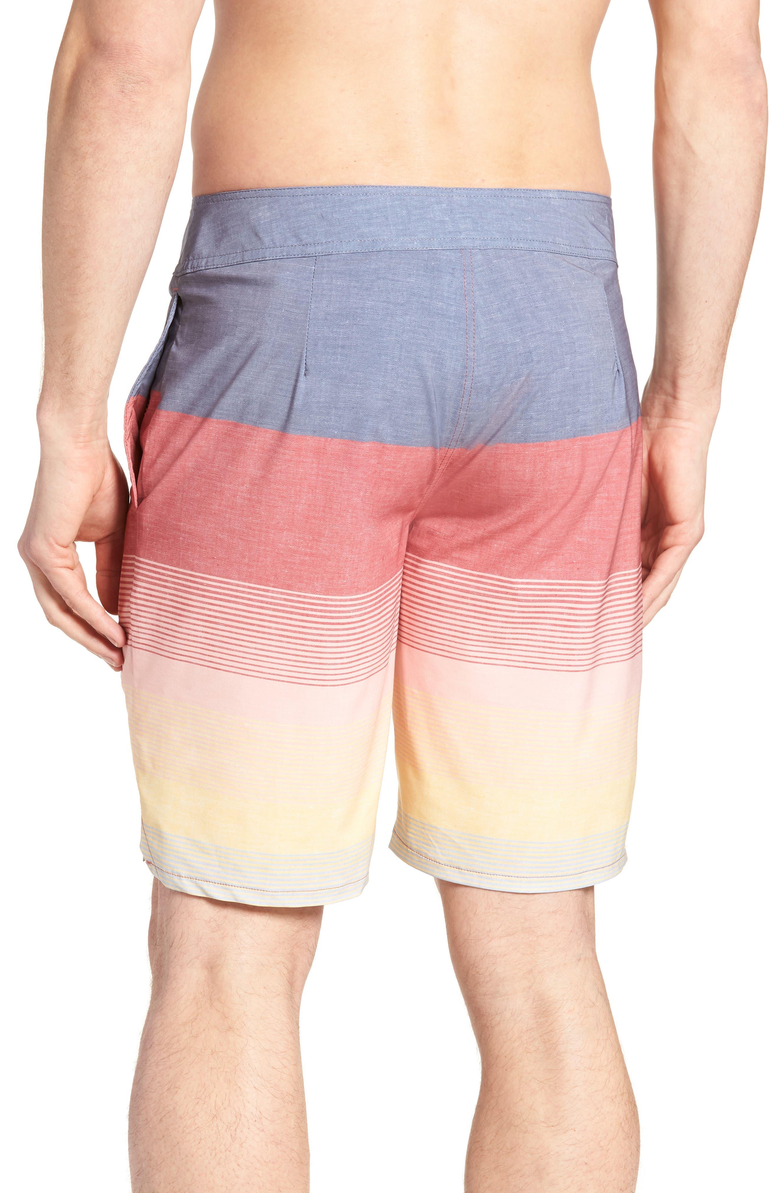 Seegrid Regular Fit Board Shorts,                             Alternate thumbnail 4, color,