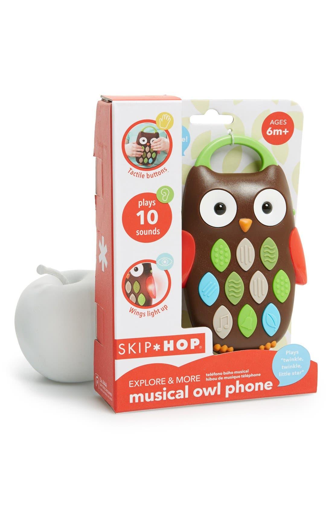 Musical Owl Phone,                             Main thumbnail 1, color,                             MULTI