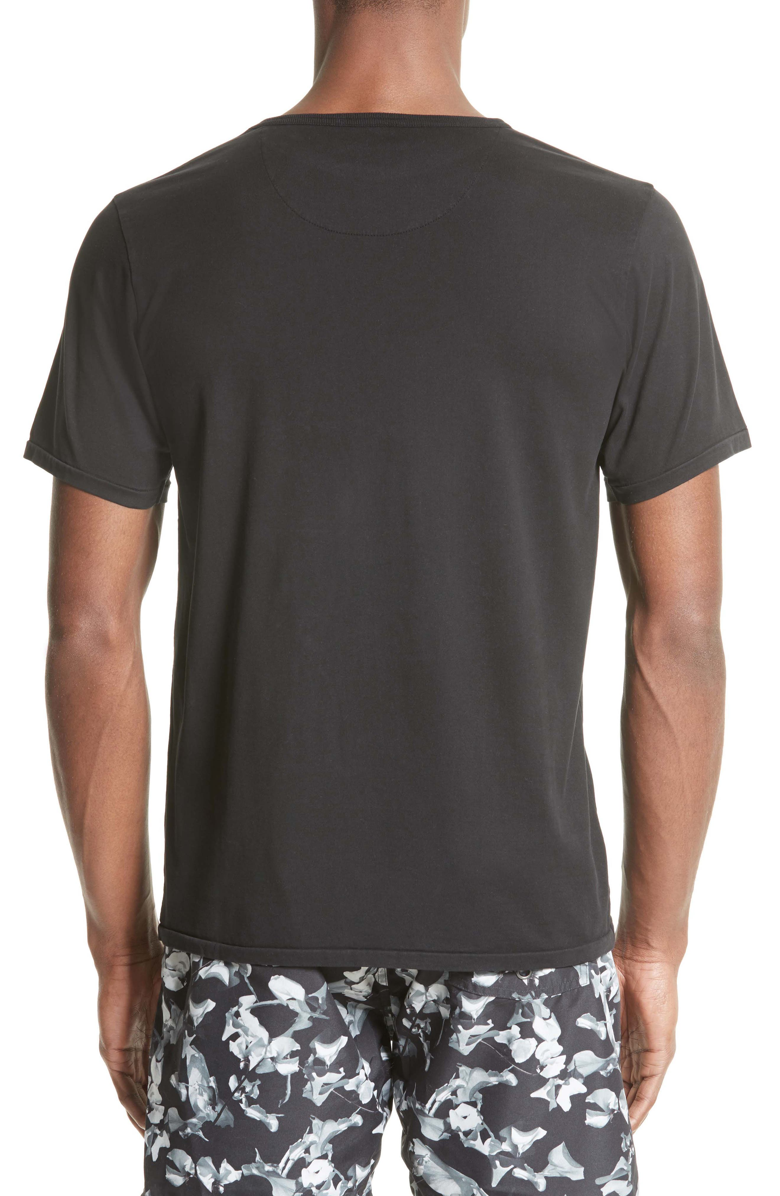 Brandon Pima Cotton T-Shirt,                             Alternate thumbnail 2, color,                             001