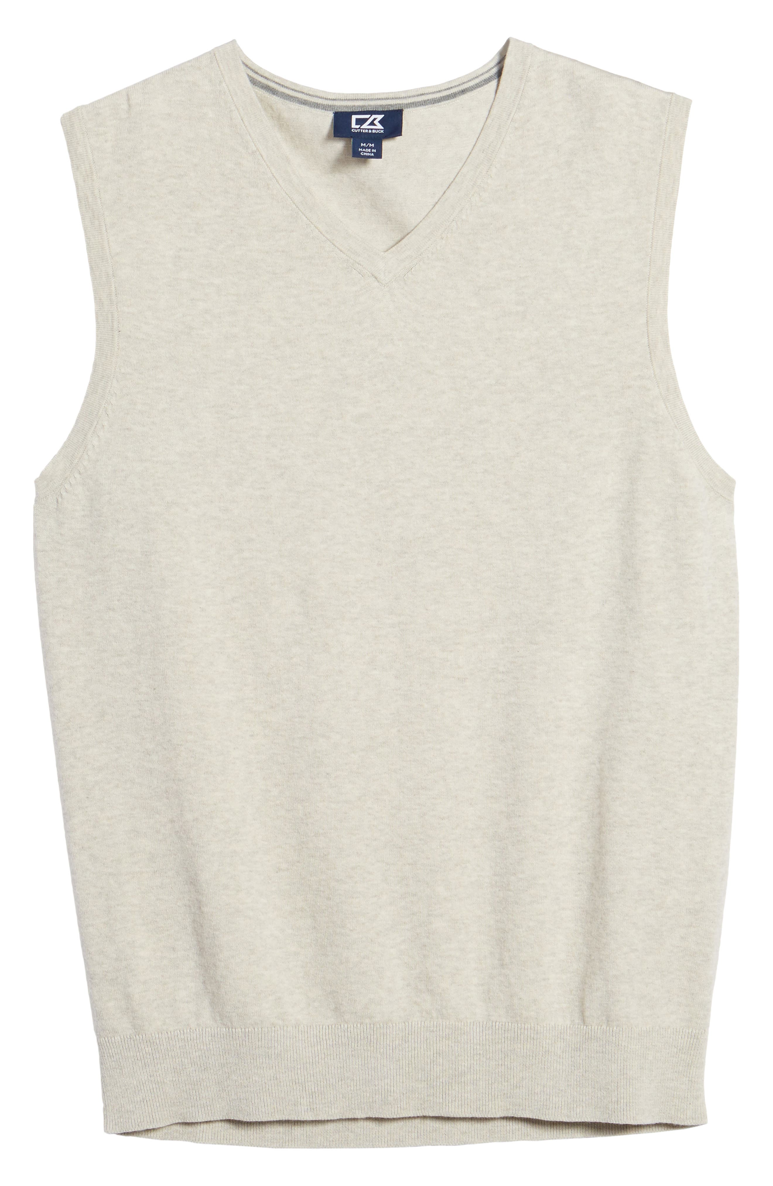 Lakemont Classic Fit Sweater Vest,                             Alternate thumbnail 6, color,                             OATMEAL HEATHER