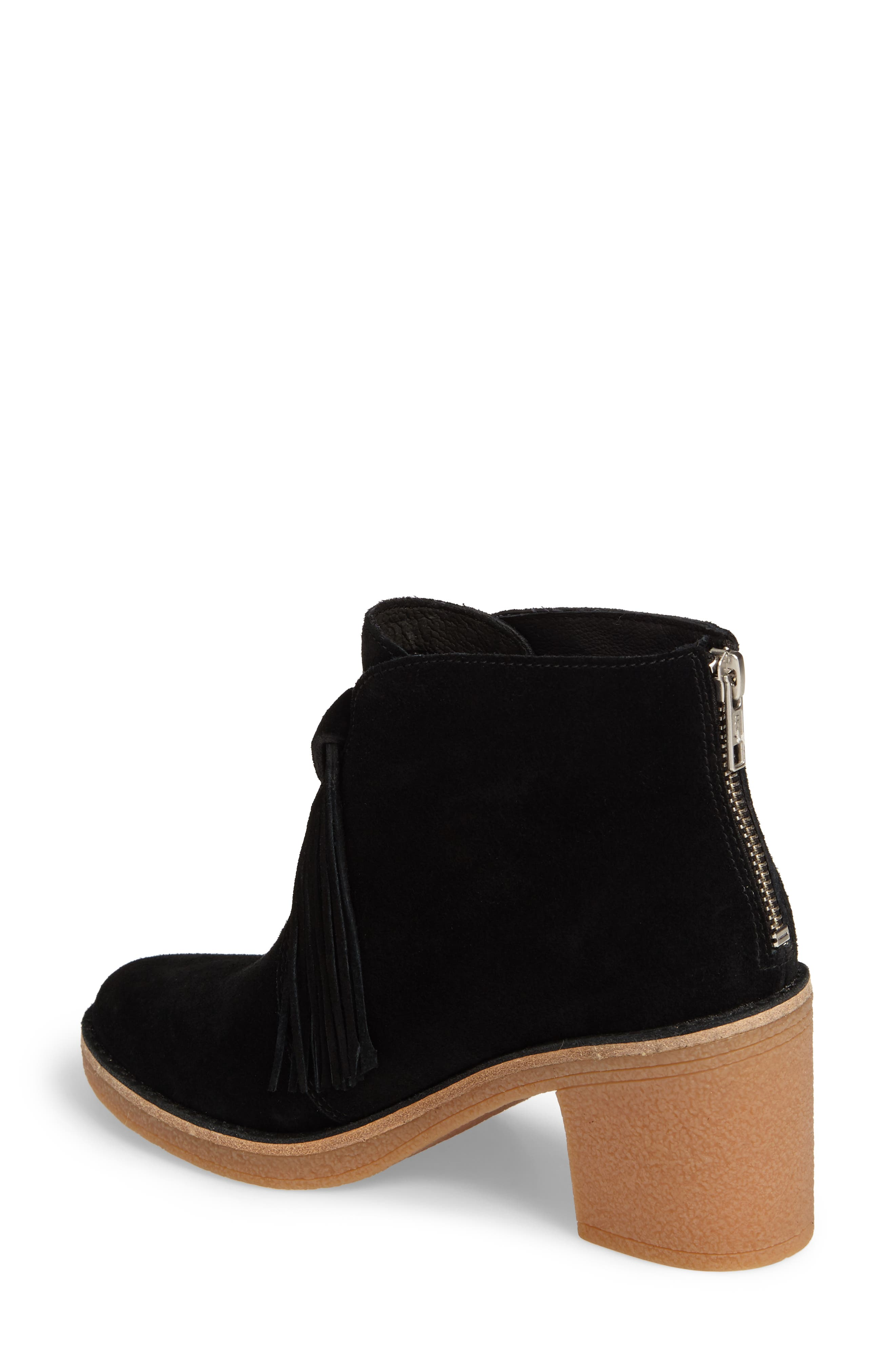 Corin Fringe Tassel Bootie,                             Alternate thumbnail 2, color,                             001