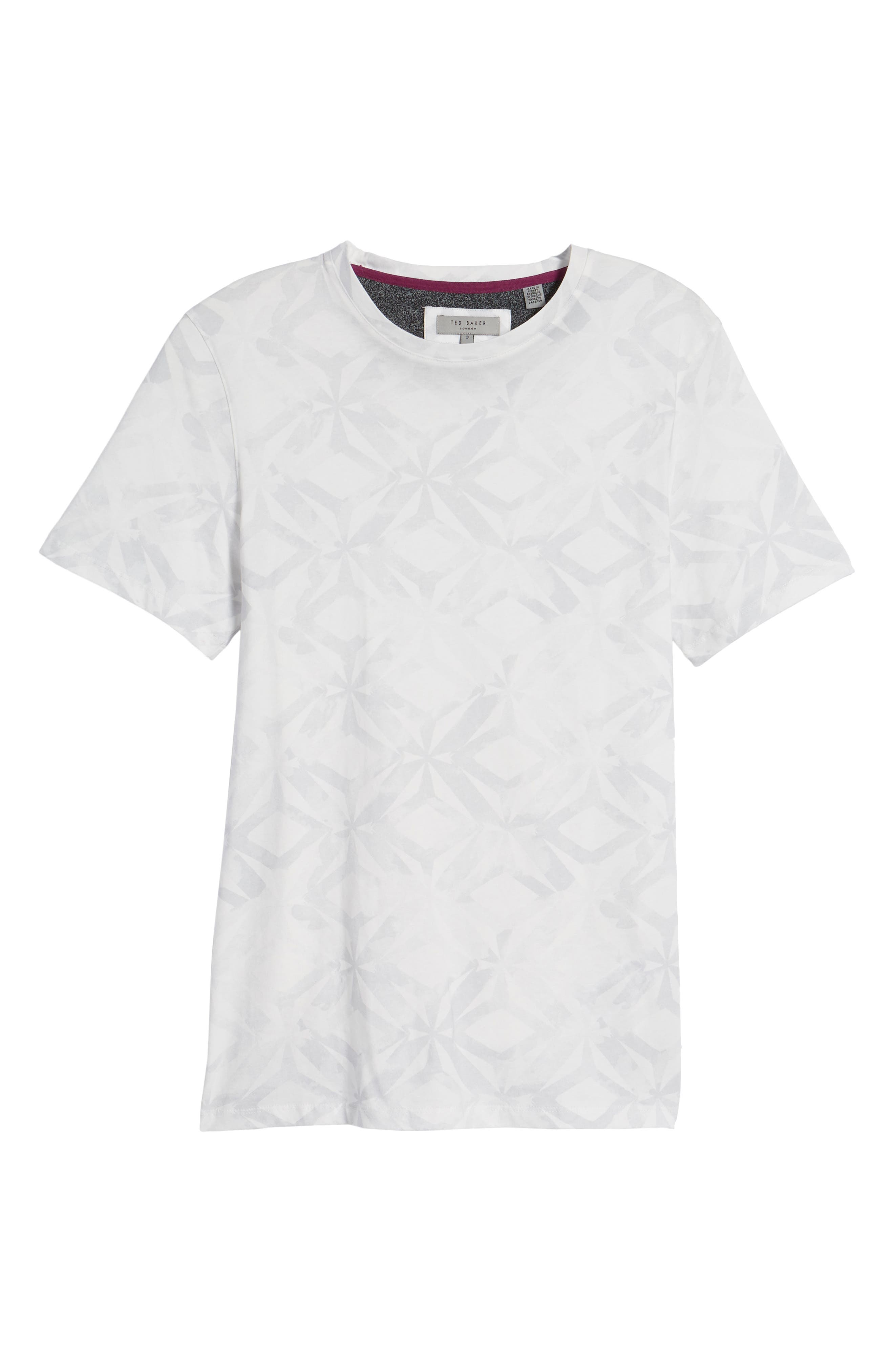 Woof Batik Print T-Shirt,                             Alternate thumbnail 6, color,                             110