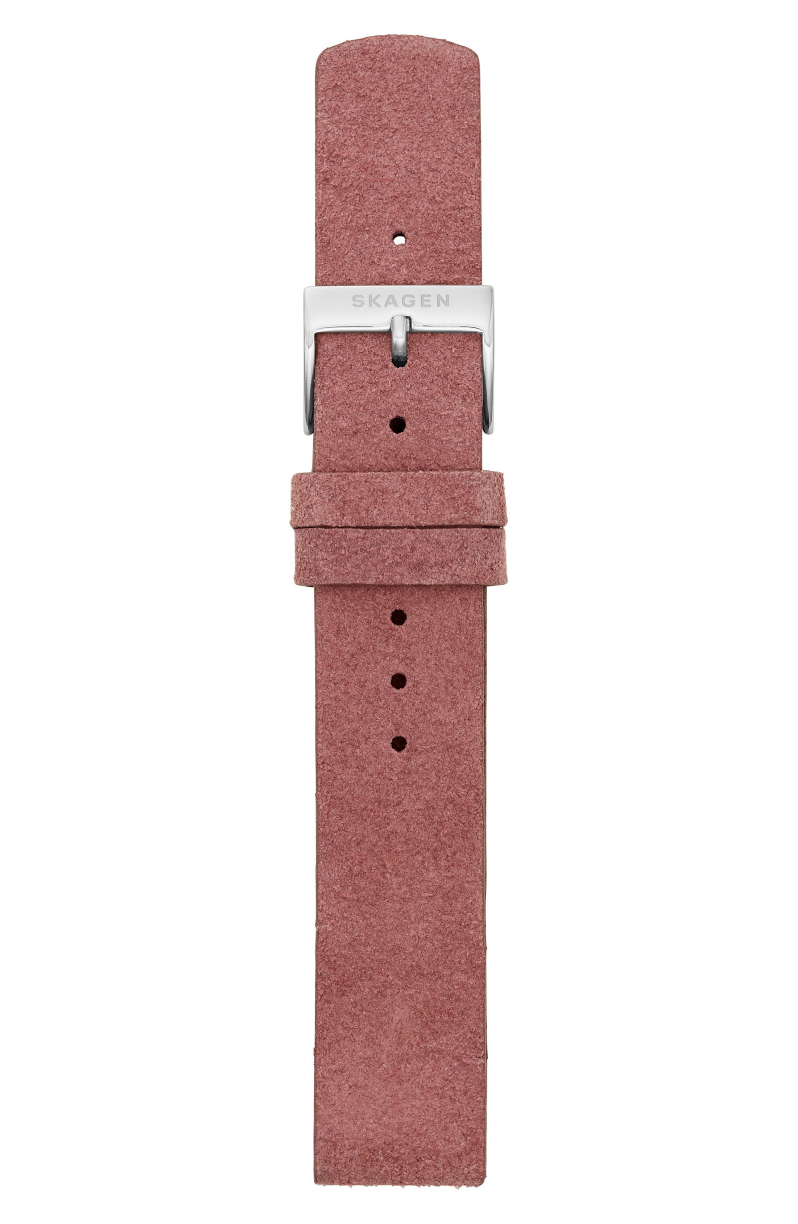 Leather Watch Strap, 16mm,                             Alternate thumbnail 6, color,