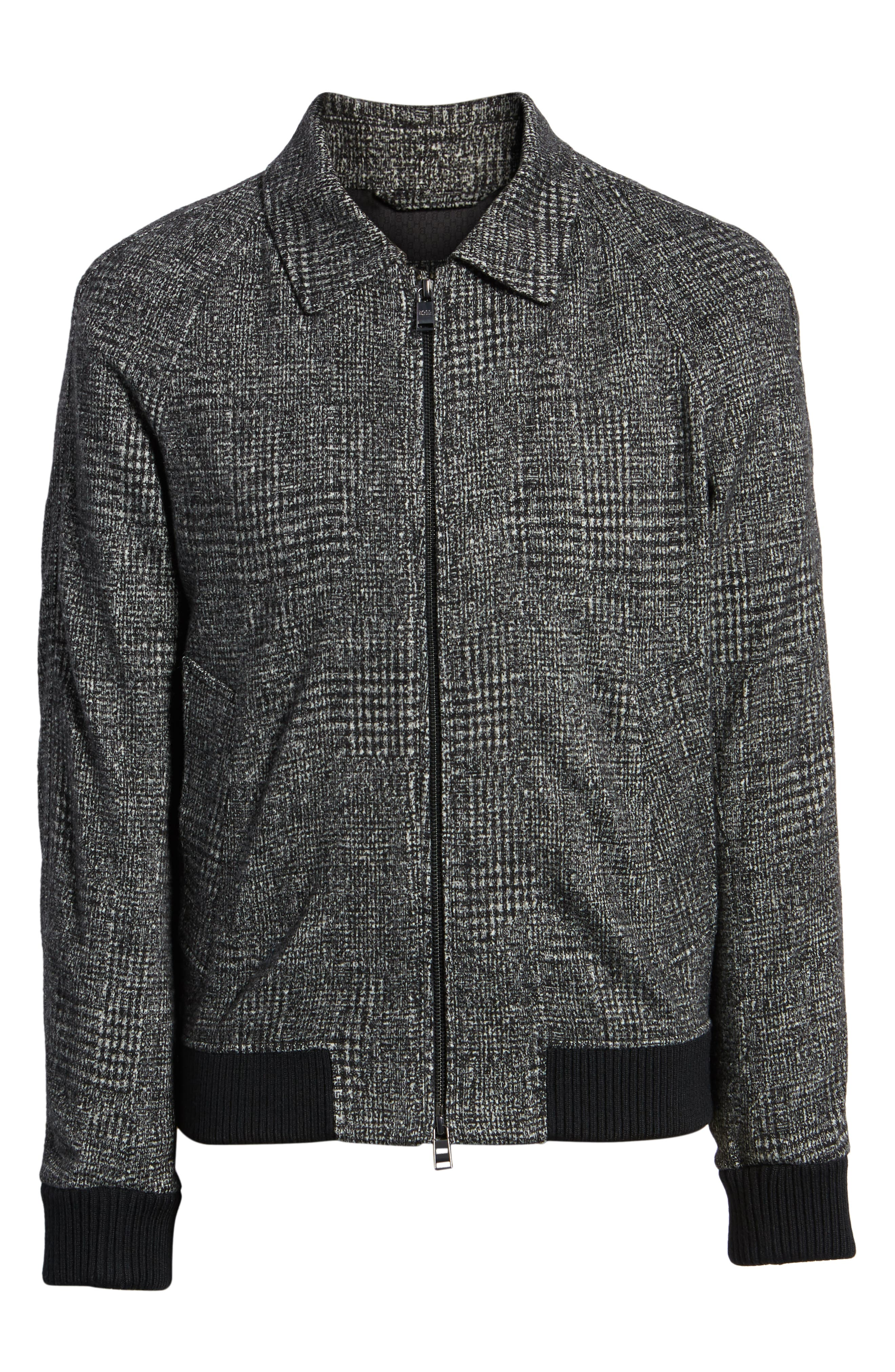 T-Cony Relaxed Fit Wool Blend Jacket,                             Alternate thumbnail 6, color,                             GREY