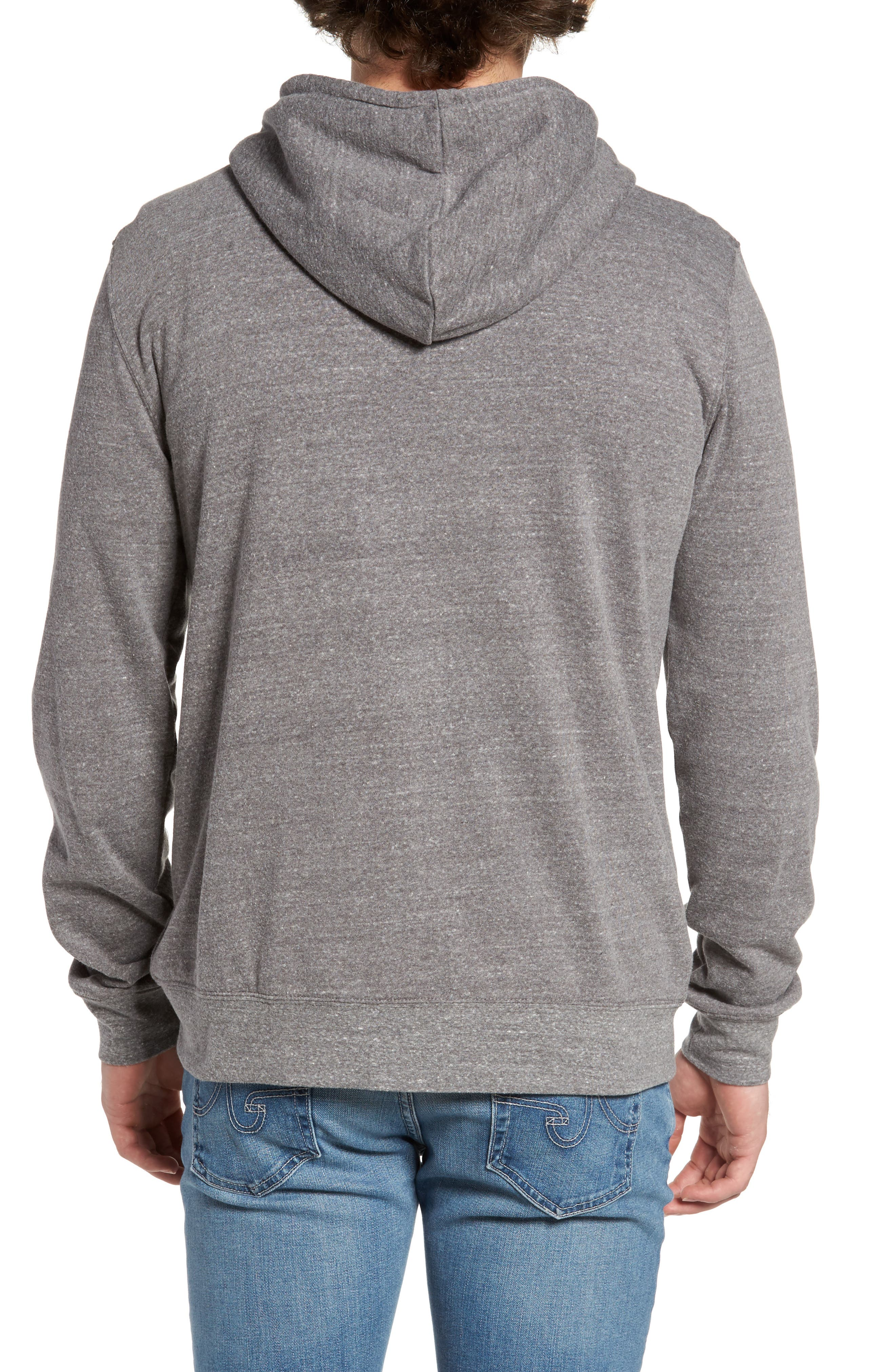 Threads for Thought Trim Fit Heathered Hoodie,                             Alternate thumbnail 44, color,