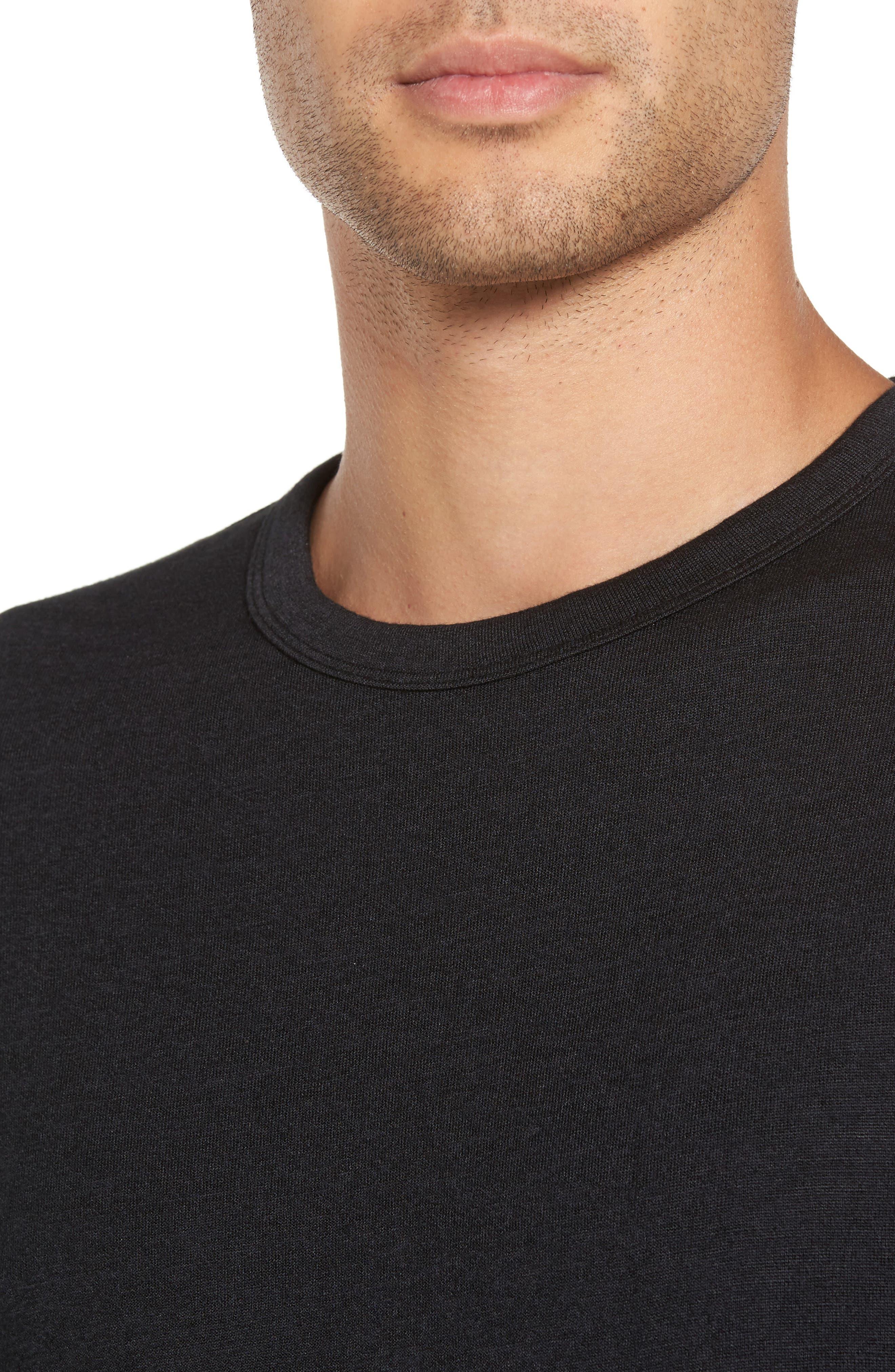 Long Sleeve T-Shirt,                             Alternate thumbnail 4, color,                             008