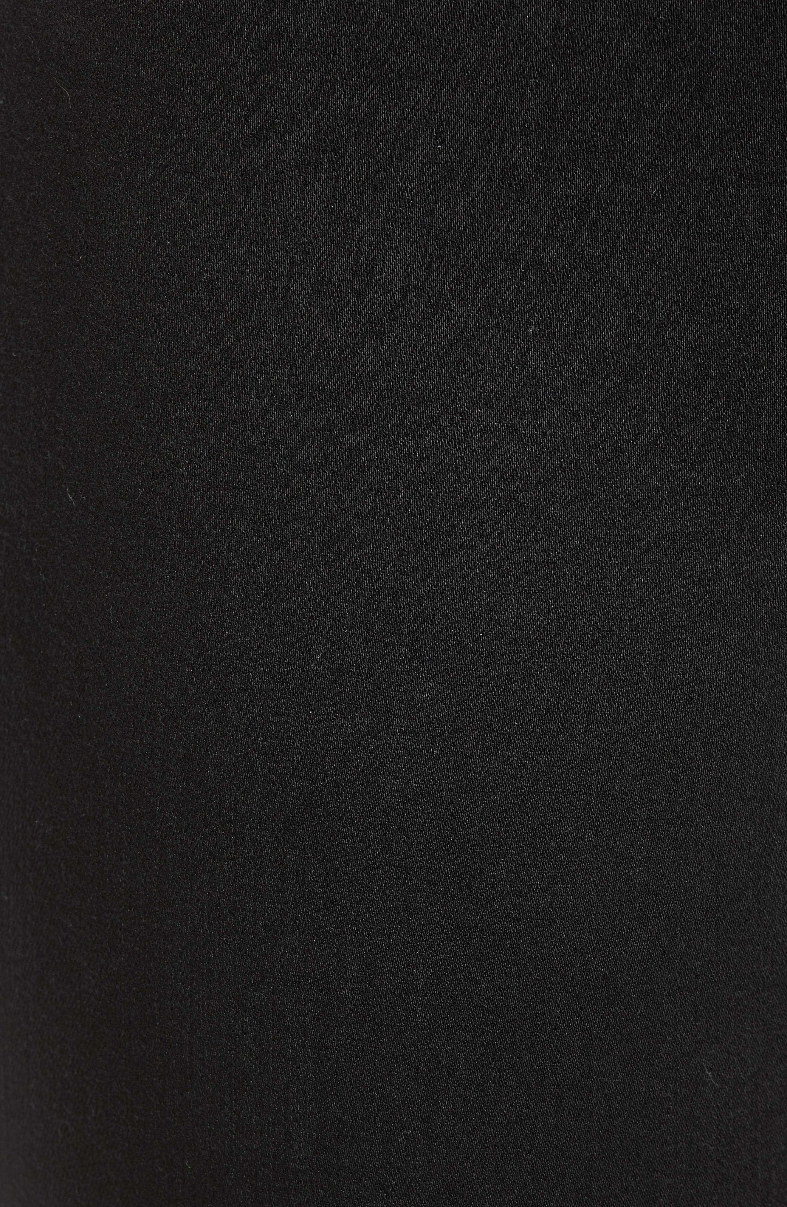 JAG JEANS,                             Marla Stretch Denim Leggings,                             Alternate thumbnail 6, color,                             BLACK