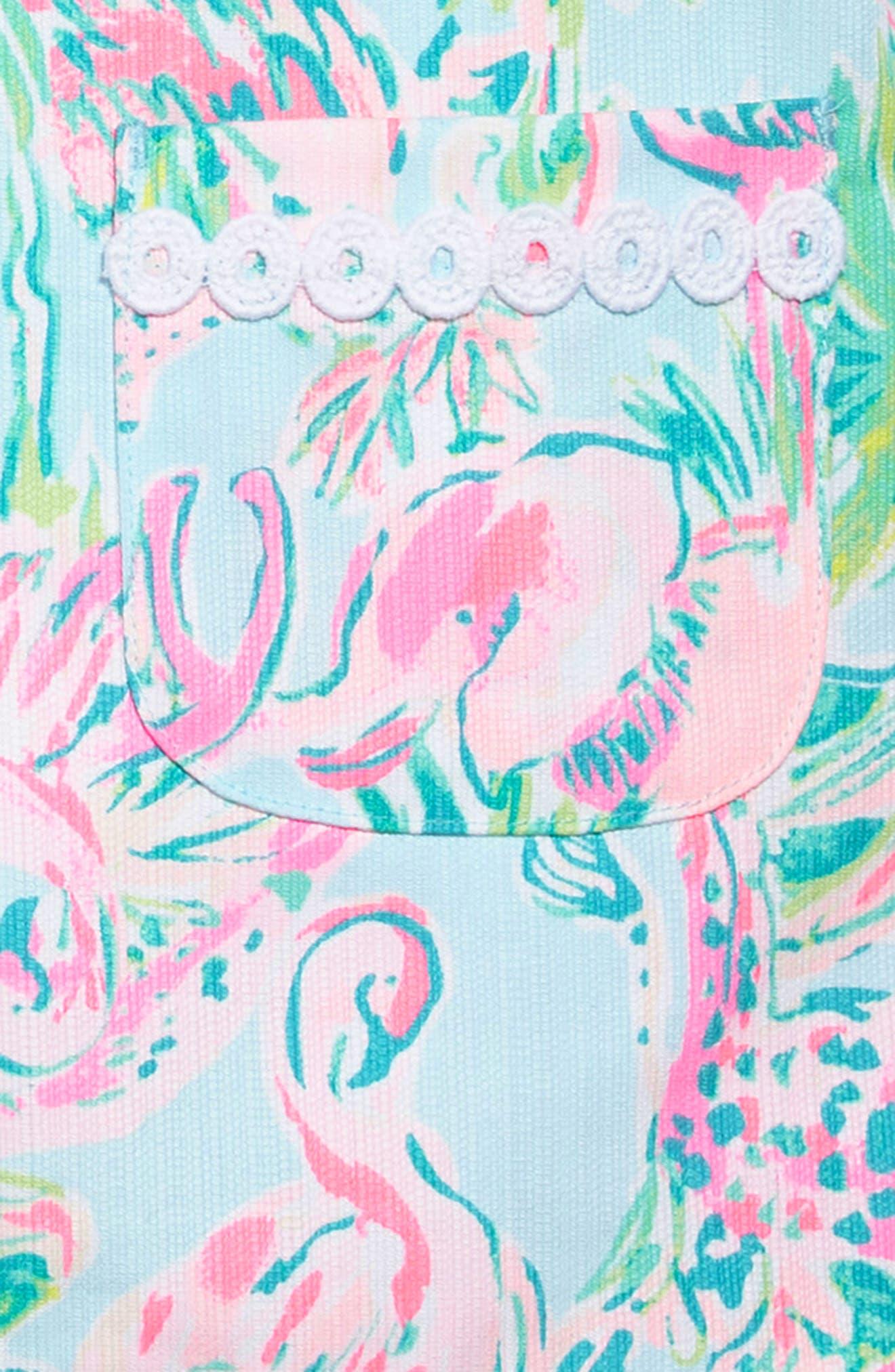 Little Lilly Shift Dress,                             Alternate thumbnail 3, color,                             400
