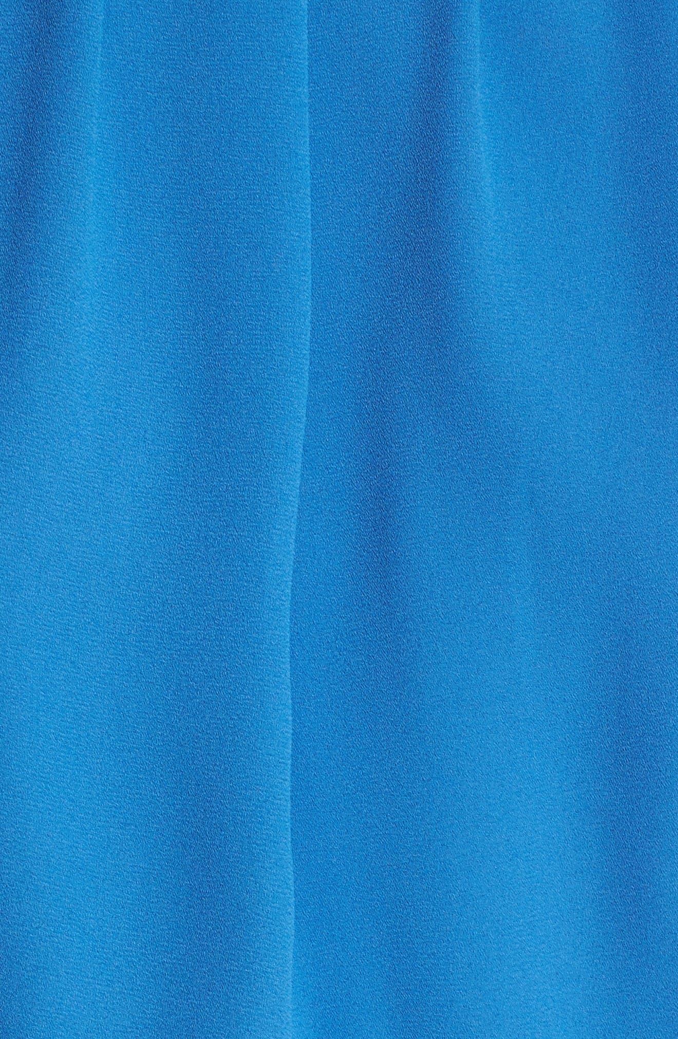 Blouson Chiffon Skater Dress,                             Alternate thumbnail 215, color,