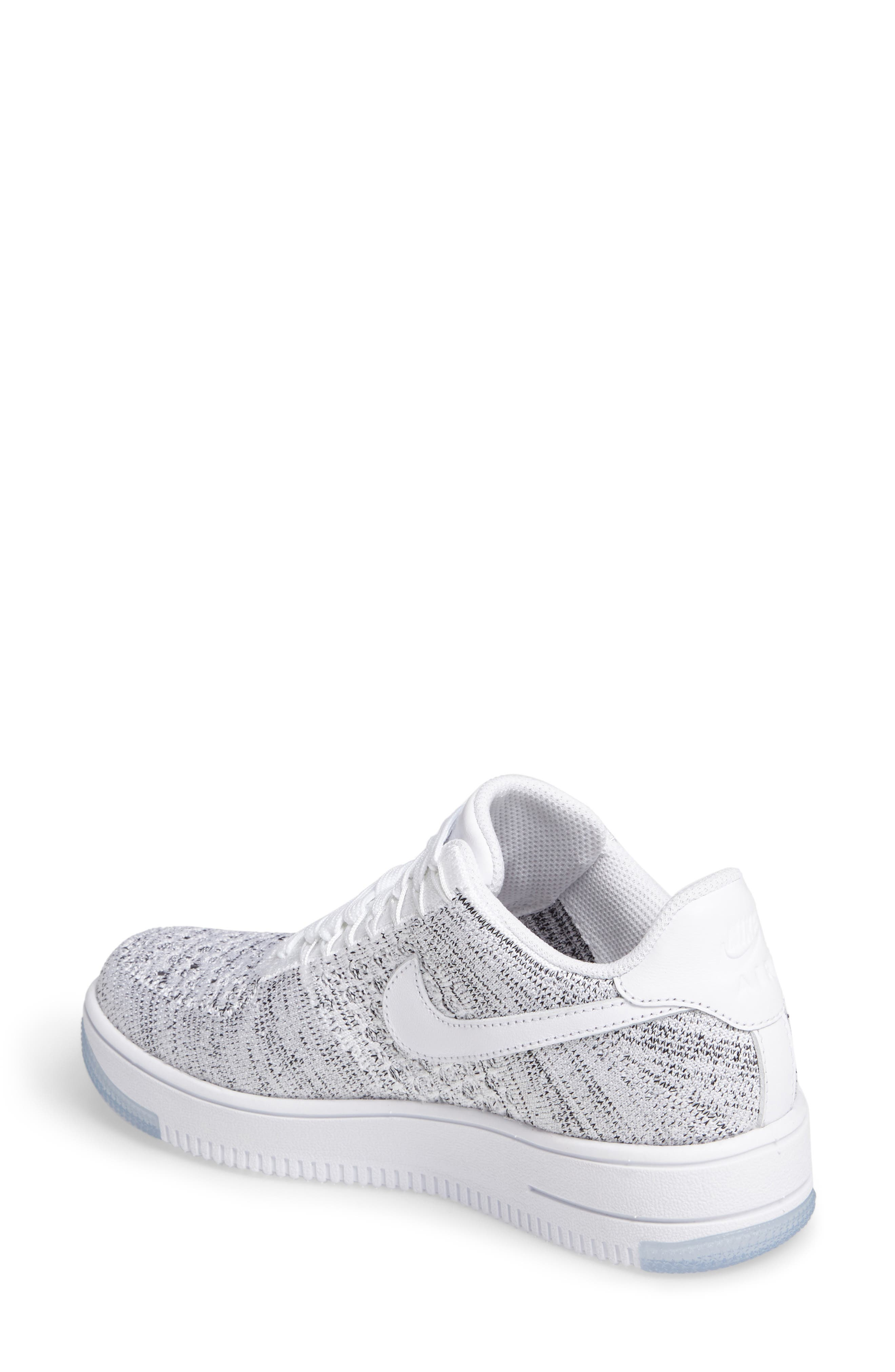 'Air Force 1 Flyknit Low' Sneaker,                             Alternate thumbnail 12, color,