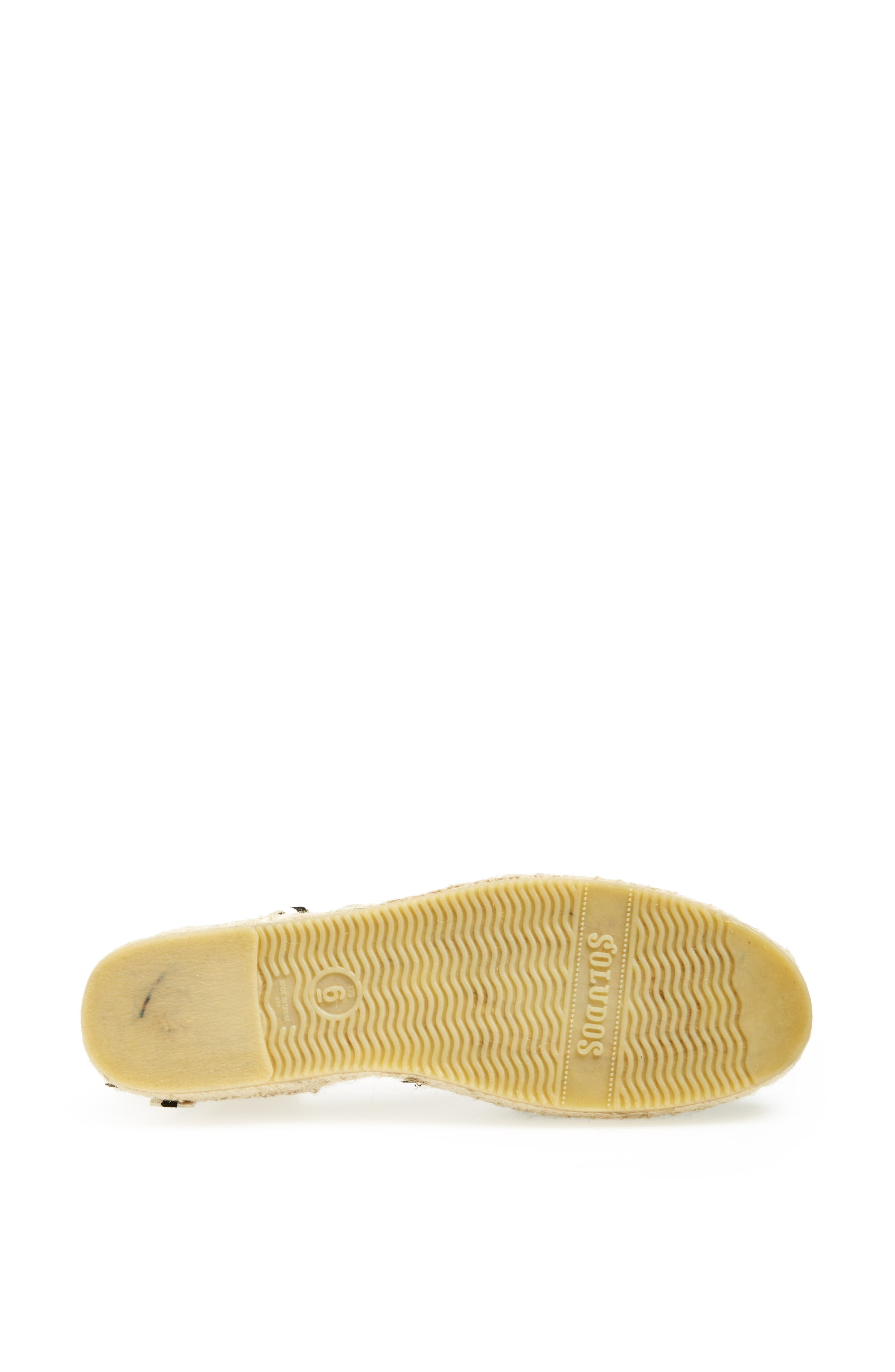 Lace-Up Espadrille Sandal,                             Alternate thumbnail 3, color,                             BLACK LINEN