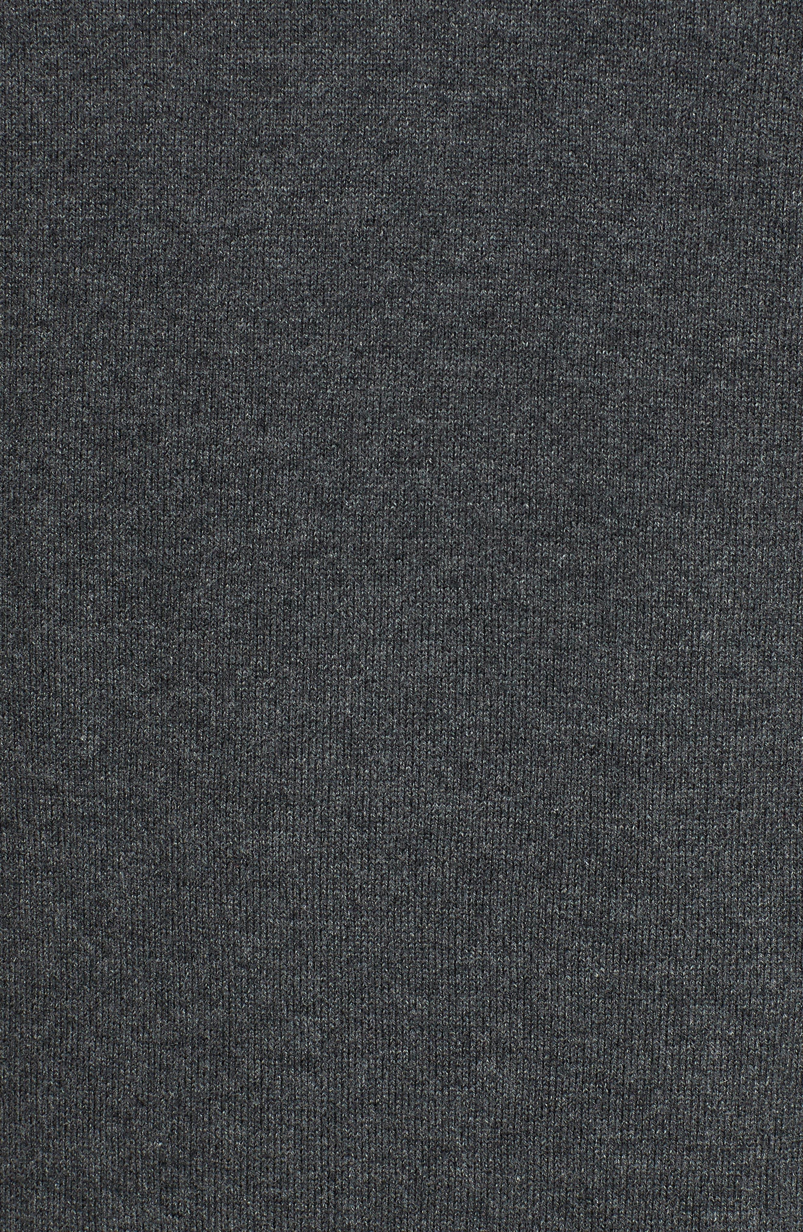 Los Angeles Rams - Lakemont Regular Fit Quarter Zip Sweater,                             Alternate thumbnail 5, color,                             CHARCOAL HEATHER