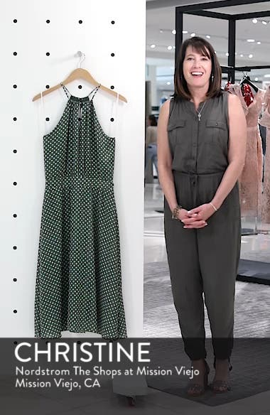 Polka Dot Halter Dress, sales video thumbnail