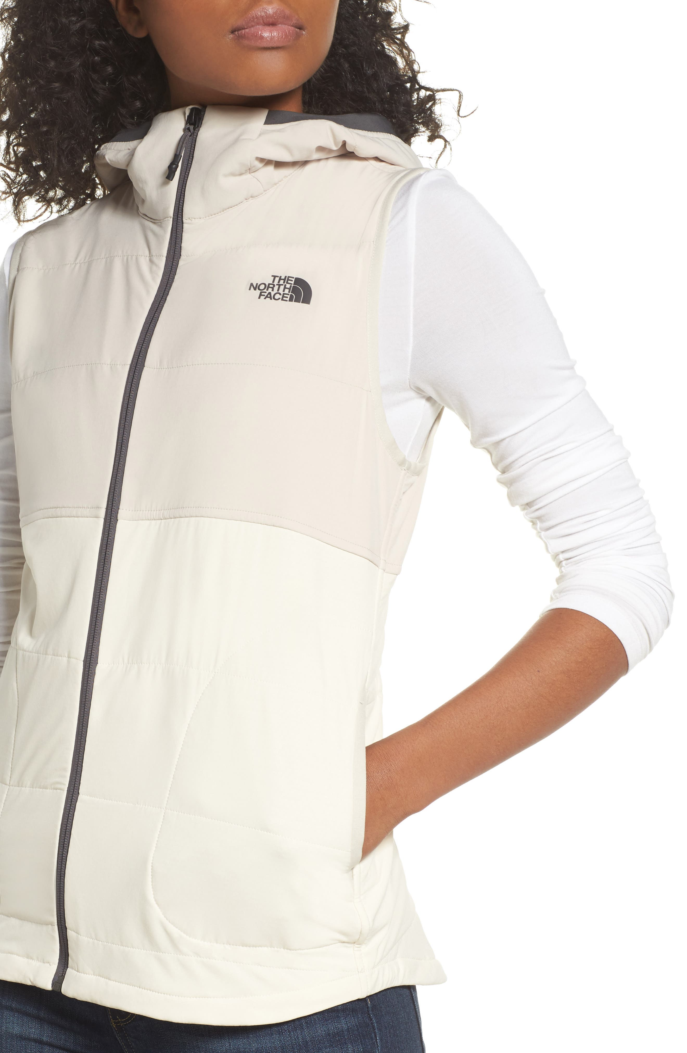 Mountain Sweatshirt Insulated Hooded Vest,                             Alternate thumbnail 17, color,