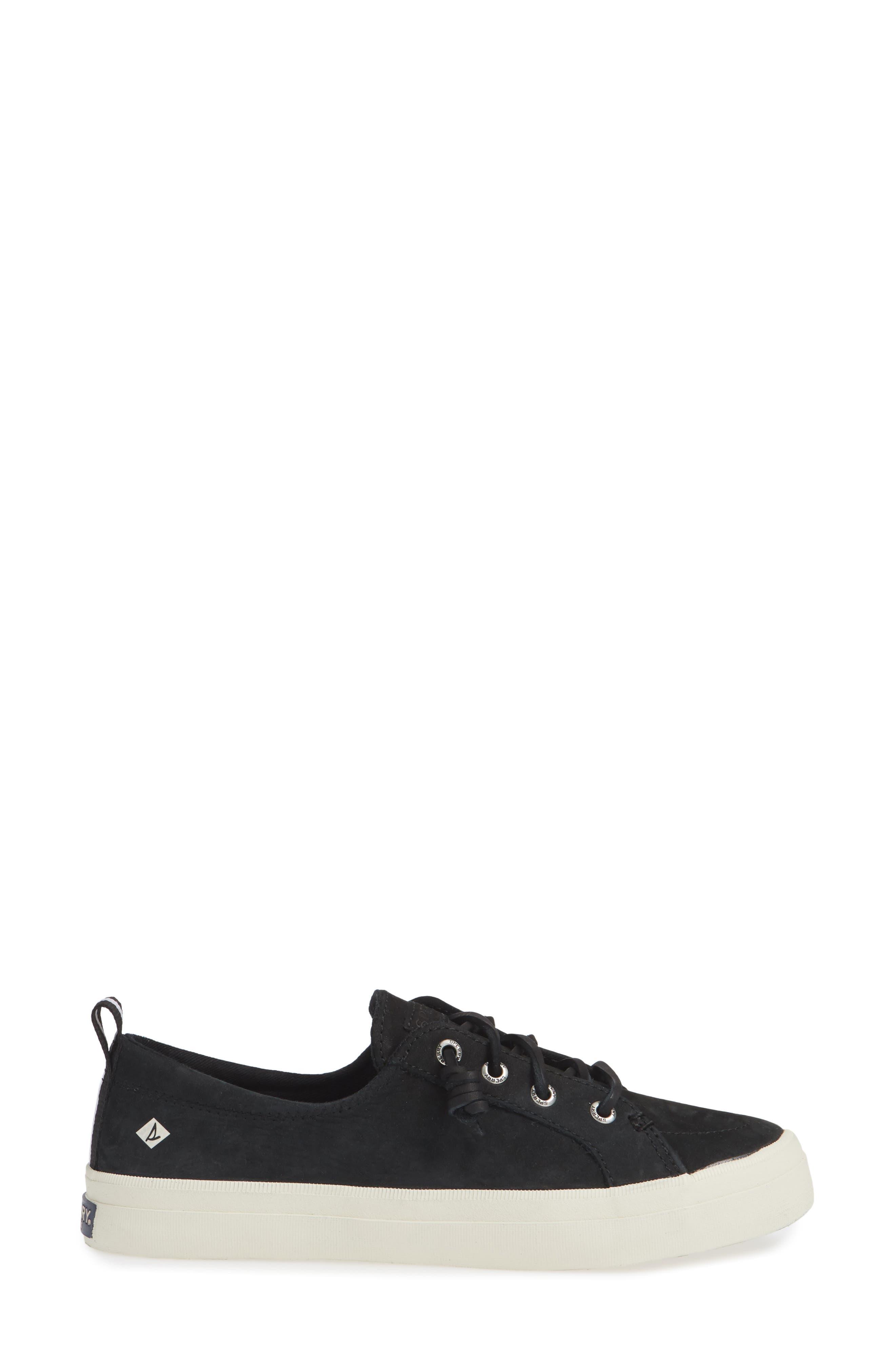 SPERRY,                             Crest Vibe Sneaker,                             Alternate thumbnail 3, color,                             001