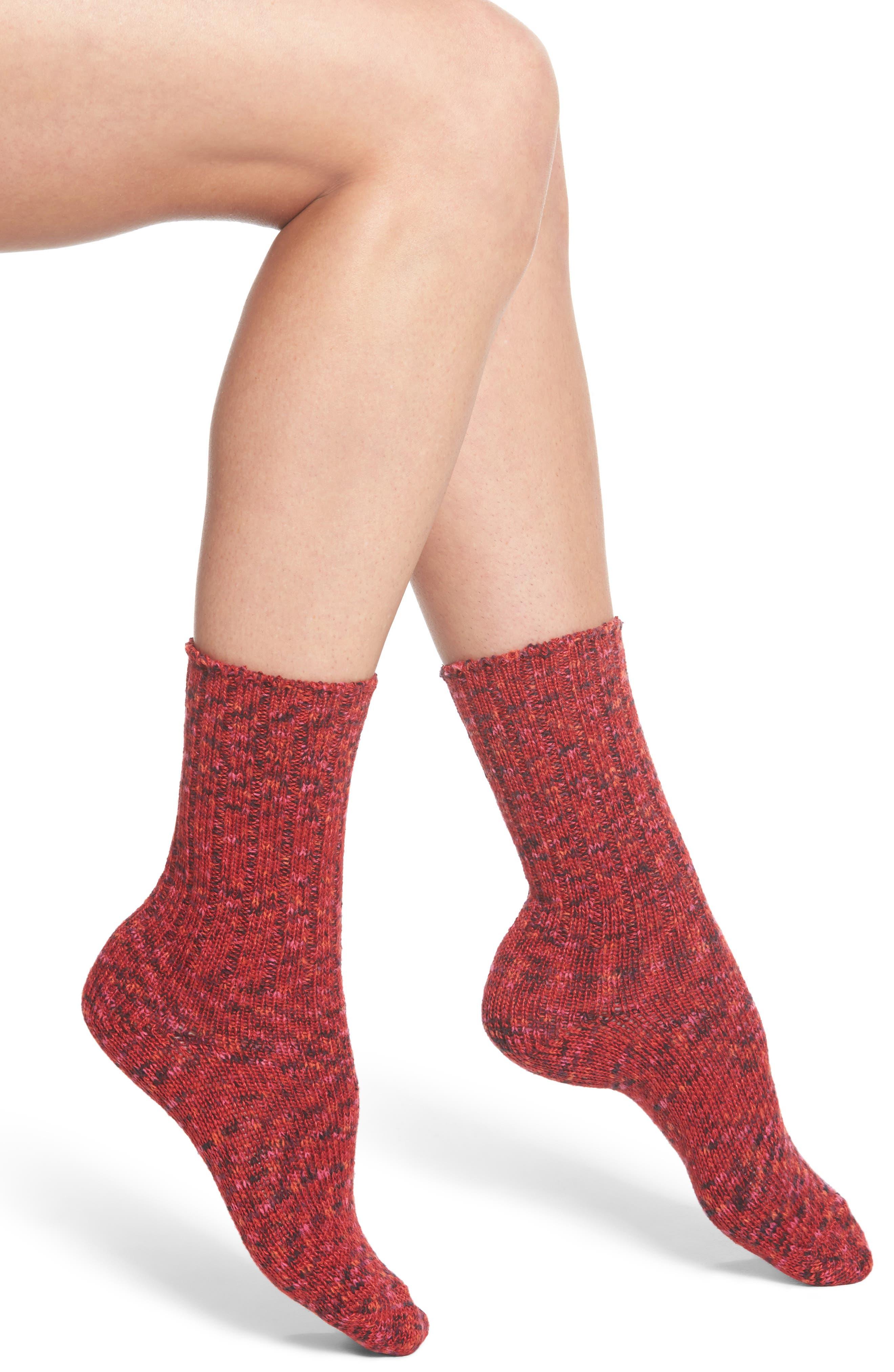 Supersoft Ribbed Boot Socks,                             Main thumbnail 3, color,
