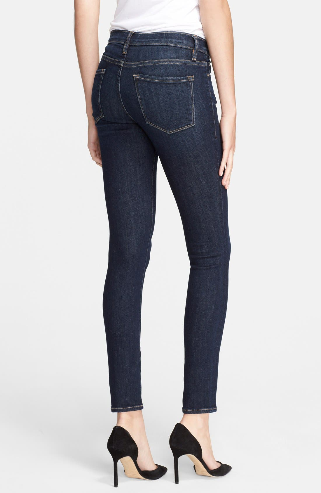 Le Skinny de Jeanne Jeans,                             Alternate thumbnail 9, color,                             QUEENSWAY