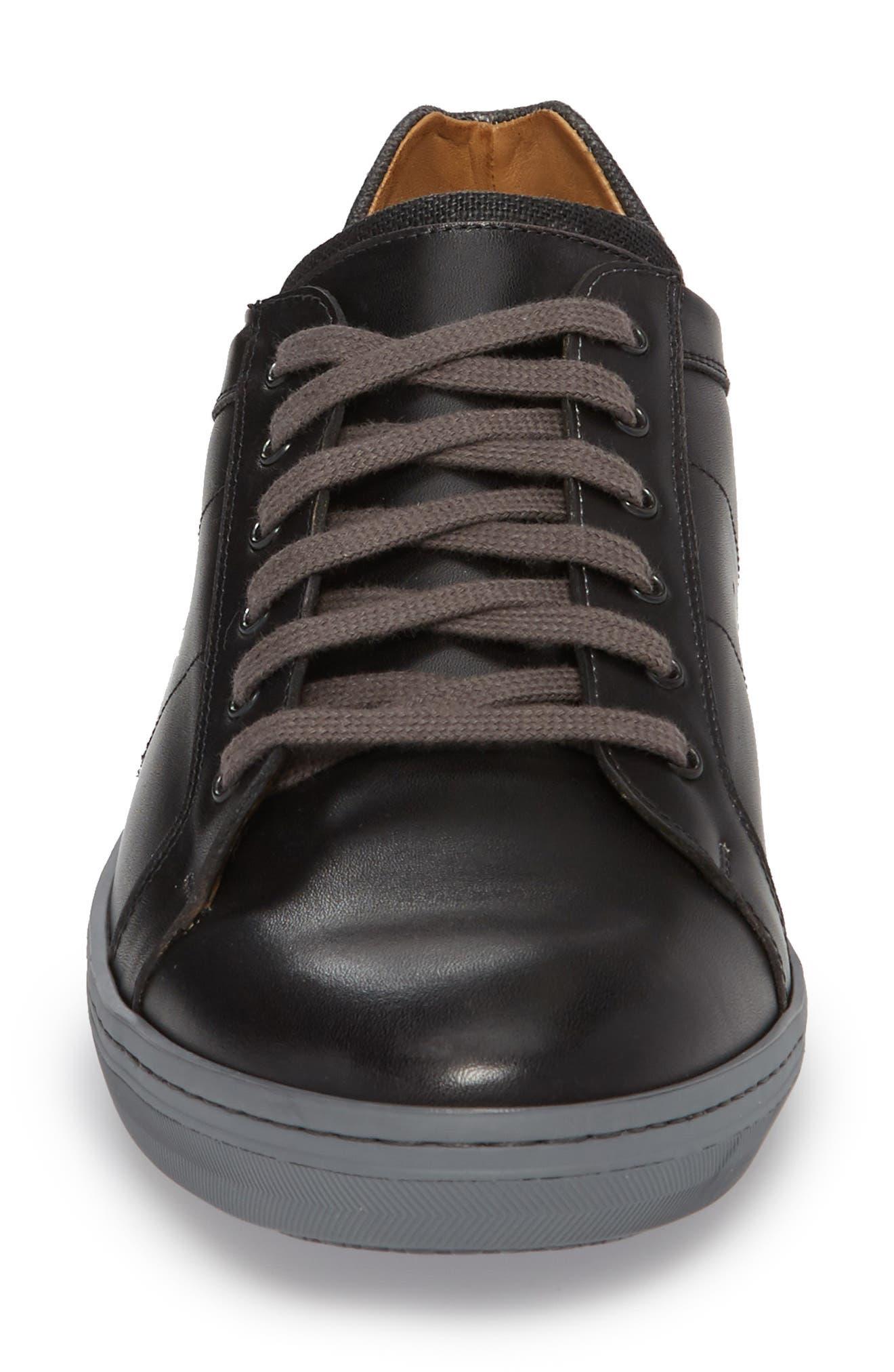 Cuzco Sneaker,                             Alternate thumbnail 4, color,                             GRAPHITE/ BLACK LEATHER