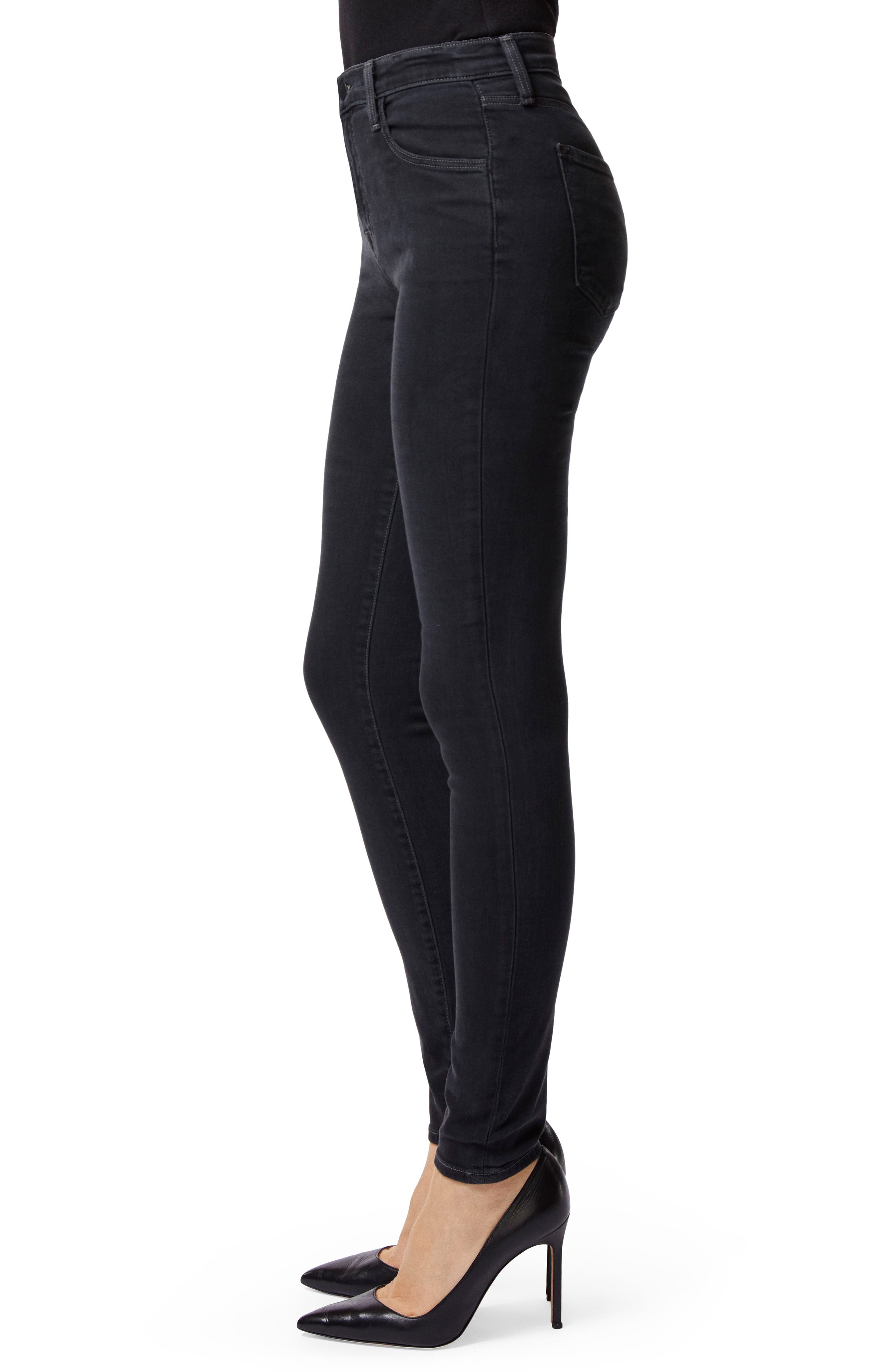 Maria High Waist Skinny Jeans,                             Alternate thumbnail 3, color,                             002