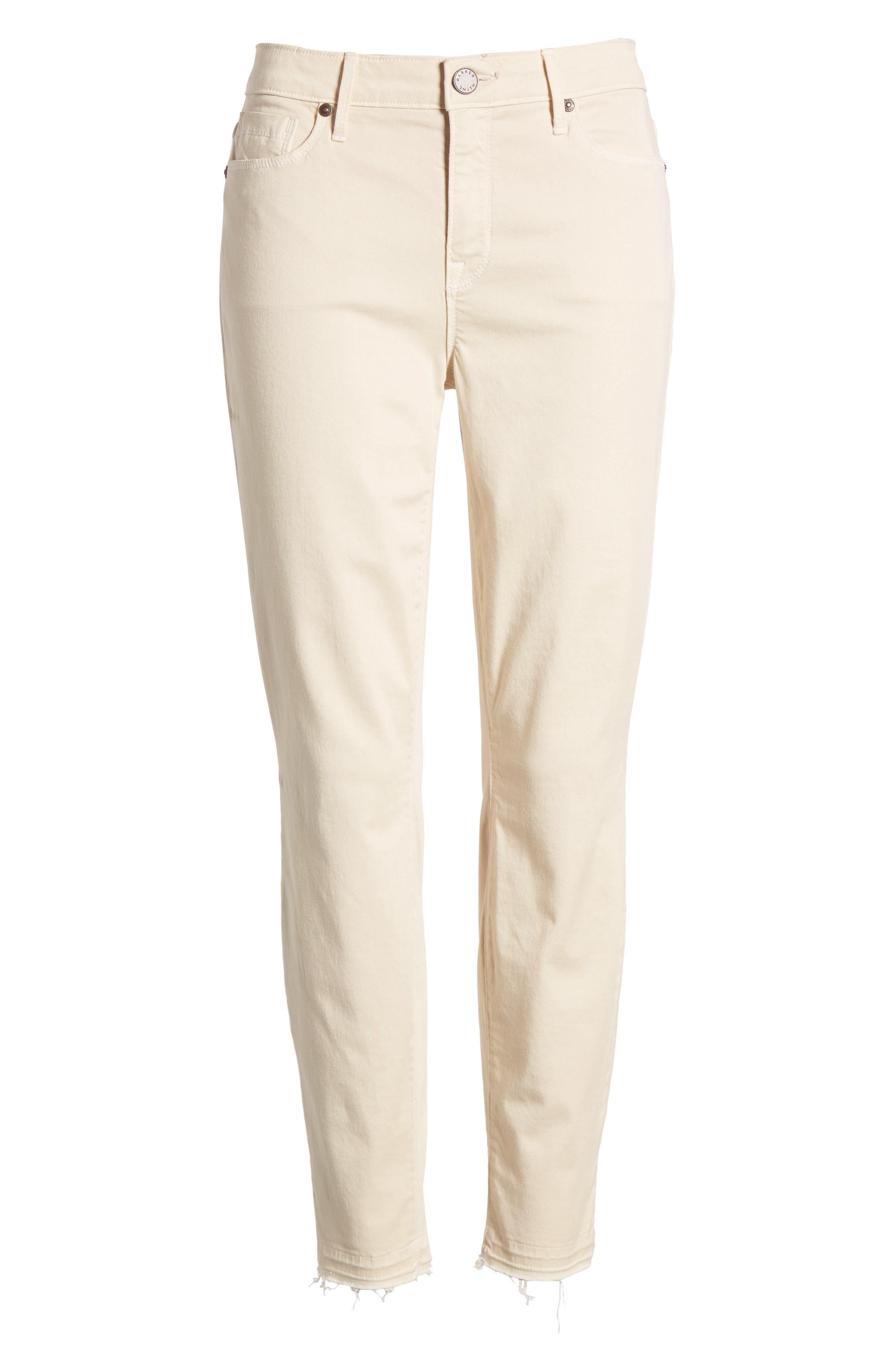 Ava Crop Skinny Jeans,                             Alternate thumbnail 6, color,