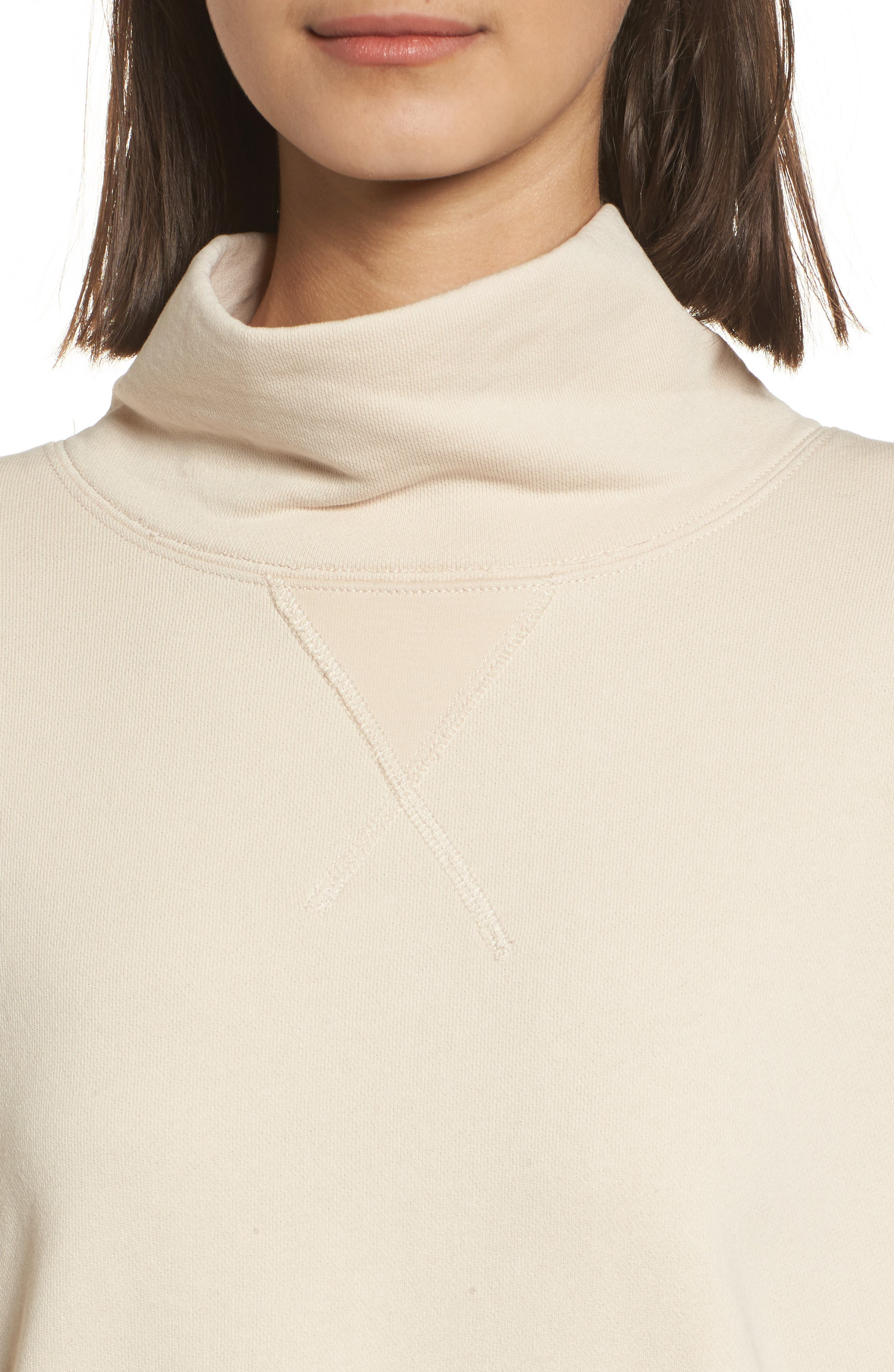 Garment Dyed Funnel Neck Sweatshirt,                             Alternate thumbnail 13, color,