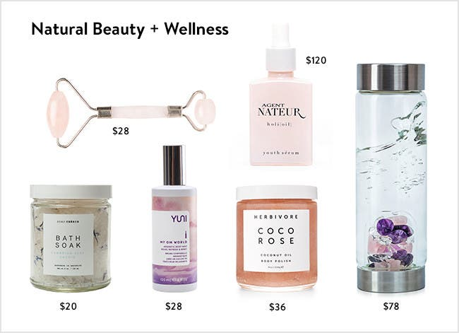 Natural Beauty + Wellness: Take time to look and feel your best.