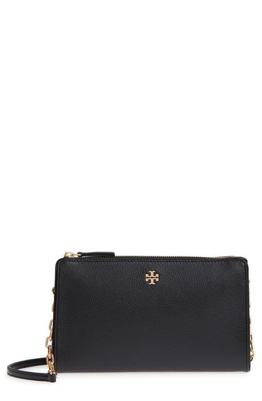 de1147578a7 Tory Burch Marsden Leather Wallet Crossbody Bag