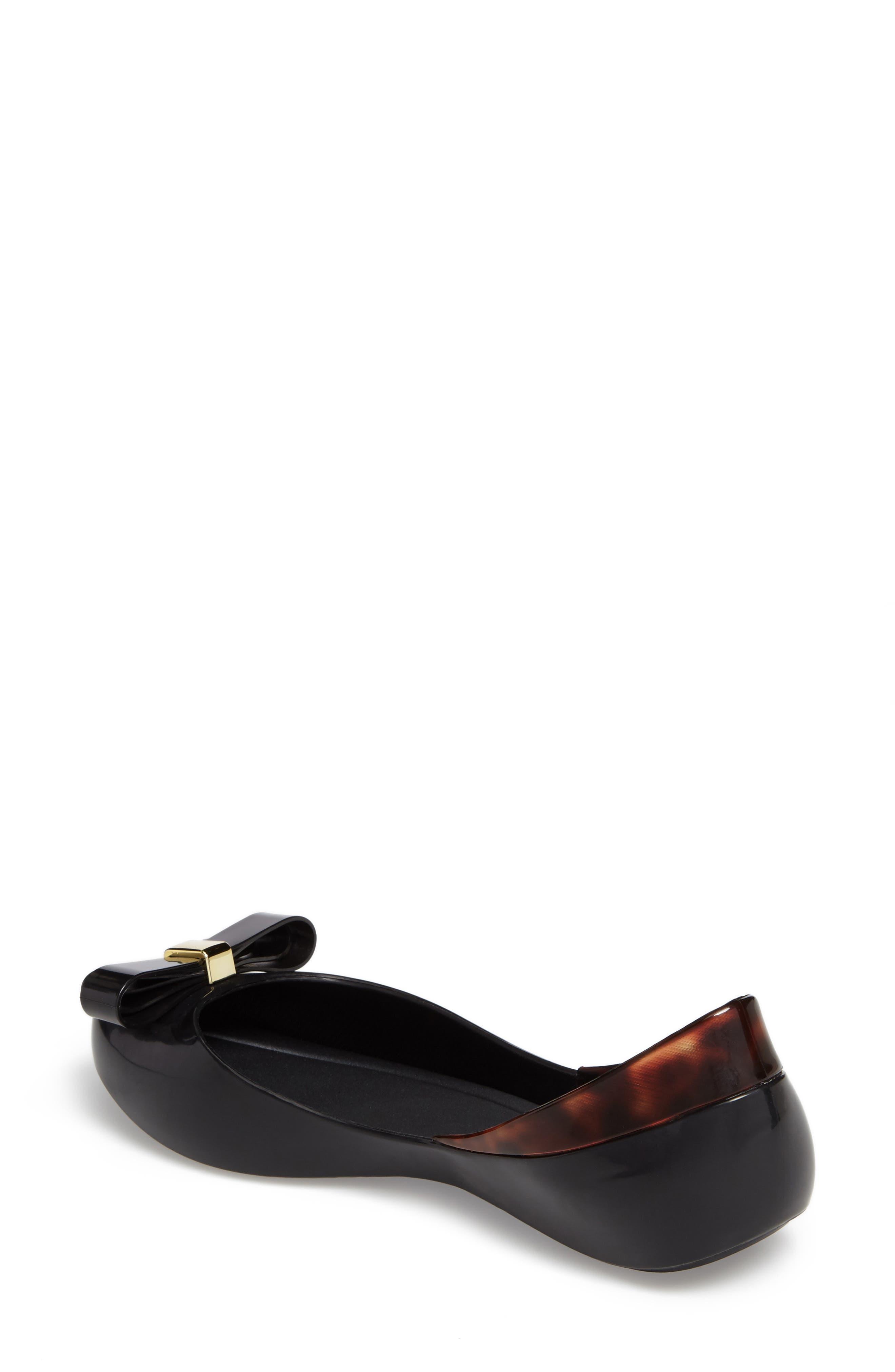 Queen VI Peep Toe Flat,                             Alternate thumbnail 2, color,                             001