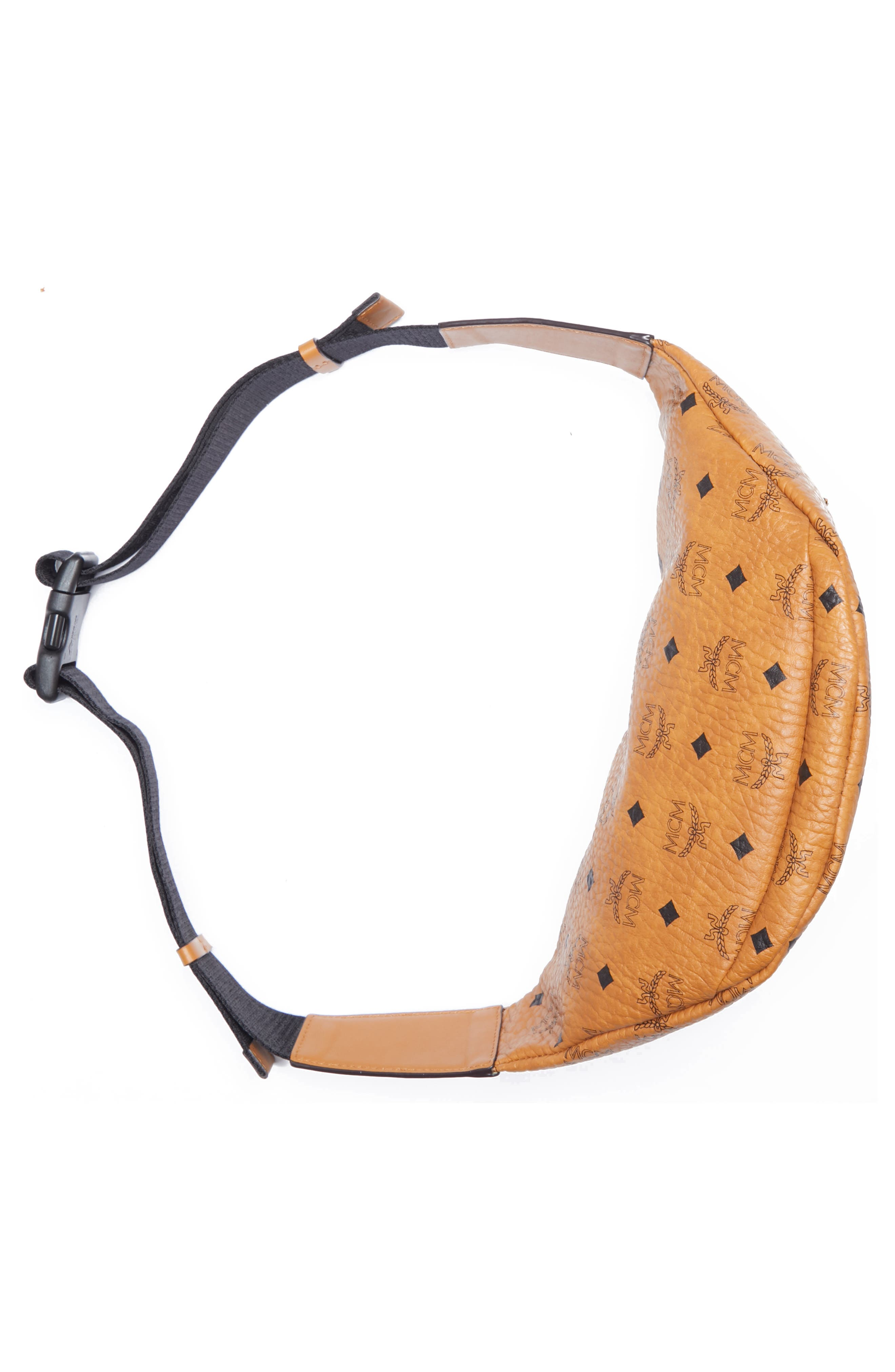 Medium Stark Belt Bag,                             Alternate thumbnail 5, color,                             COGNAC CO