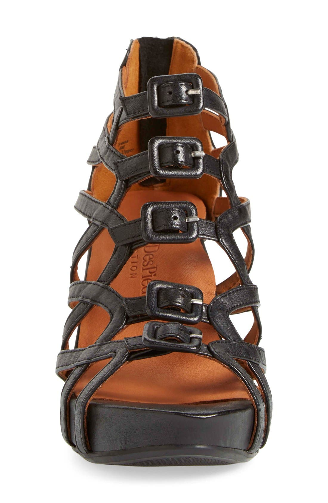 Ivanna' Gladiator Wedge Sandal,                             Alternate thumbnail 13, color,