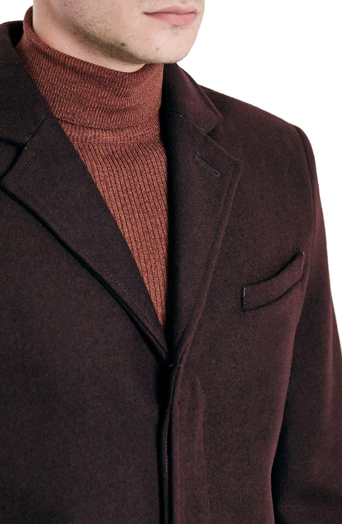 Burgundy Topcoat,                             Alternate thumbnail 2, color,                             930