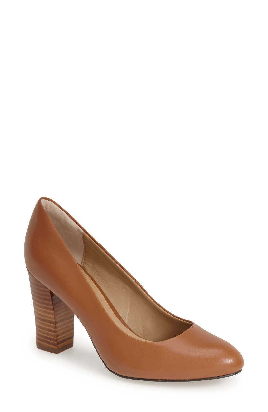 'Eleni II' Block Heel Pump,                             Main thumbnail 5, color,