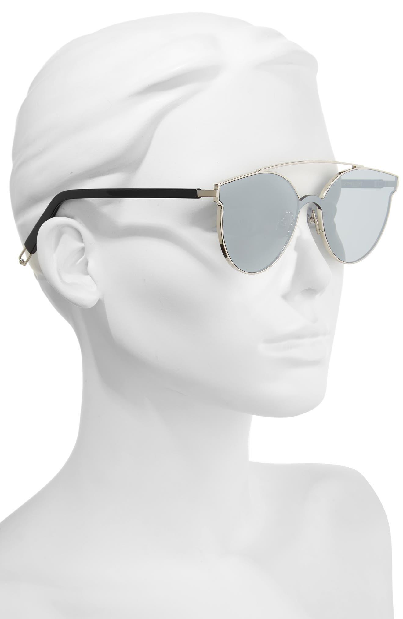 Tilda Swinton x Gentle Monster Trick of the Light 60mm Shield Sunglasses,                             Alternate thumbnail 2, color,                             040