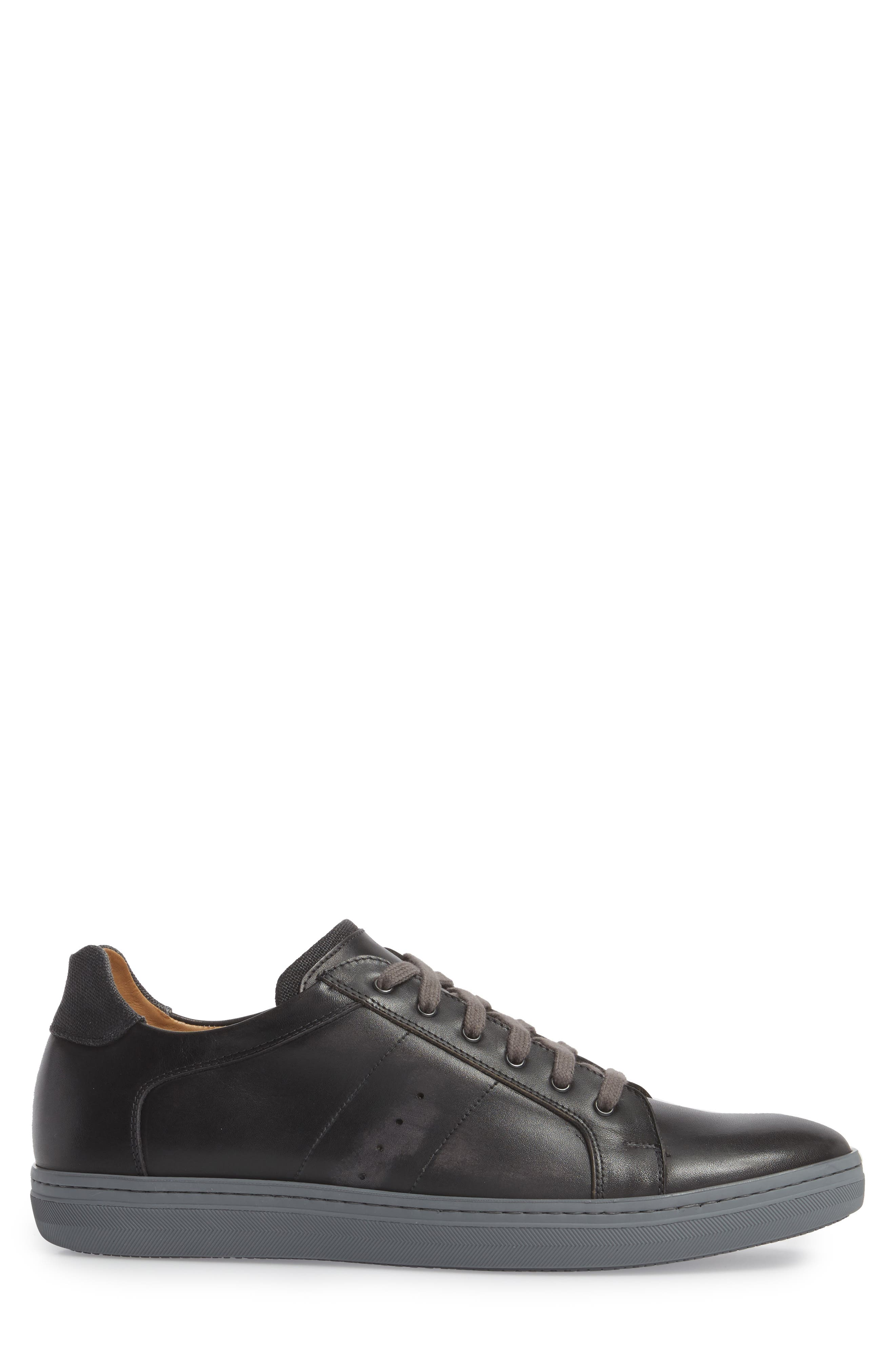 Cuzco Sneaker,                             Alternate thumbnail 3, color,                             GRAPHITE/ BLACK LEATHER
