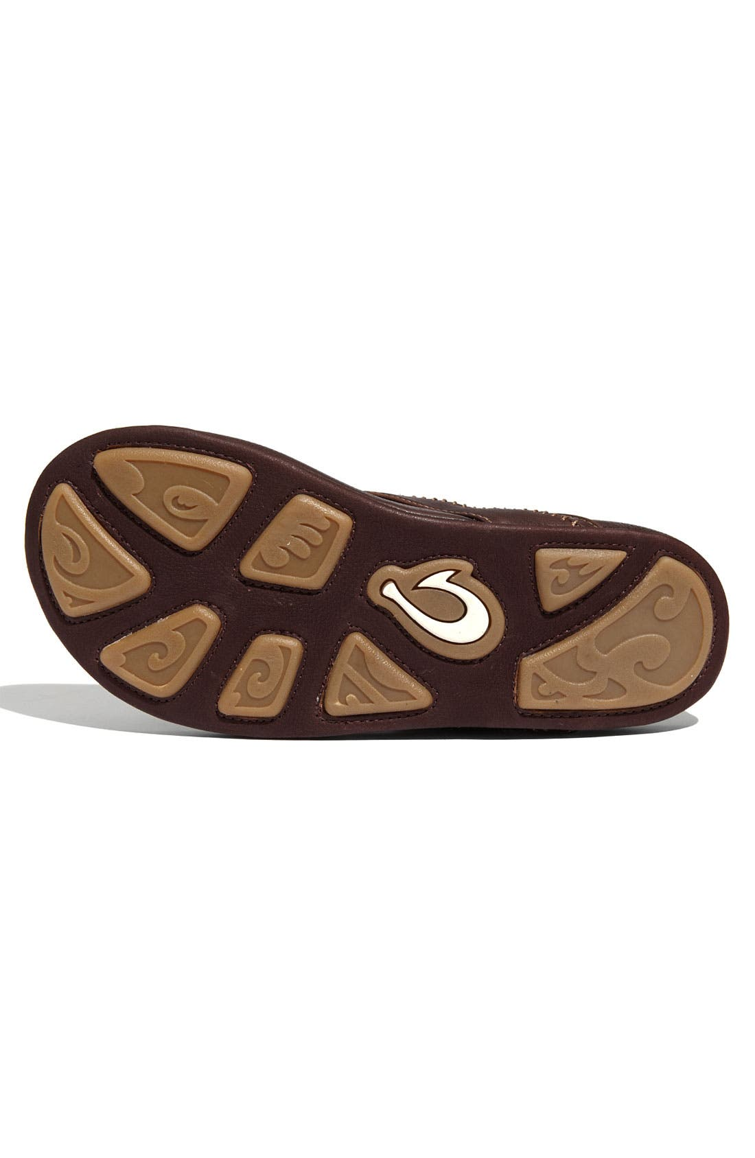 OLUKAI,                             'Hiapo' Flip Flop,                             Alternate thumbnail 2, color,                             TEAK/ TEAK