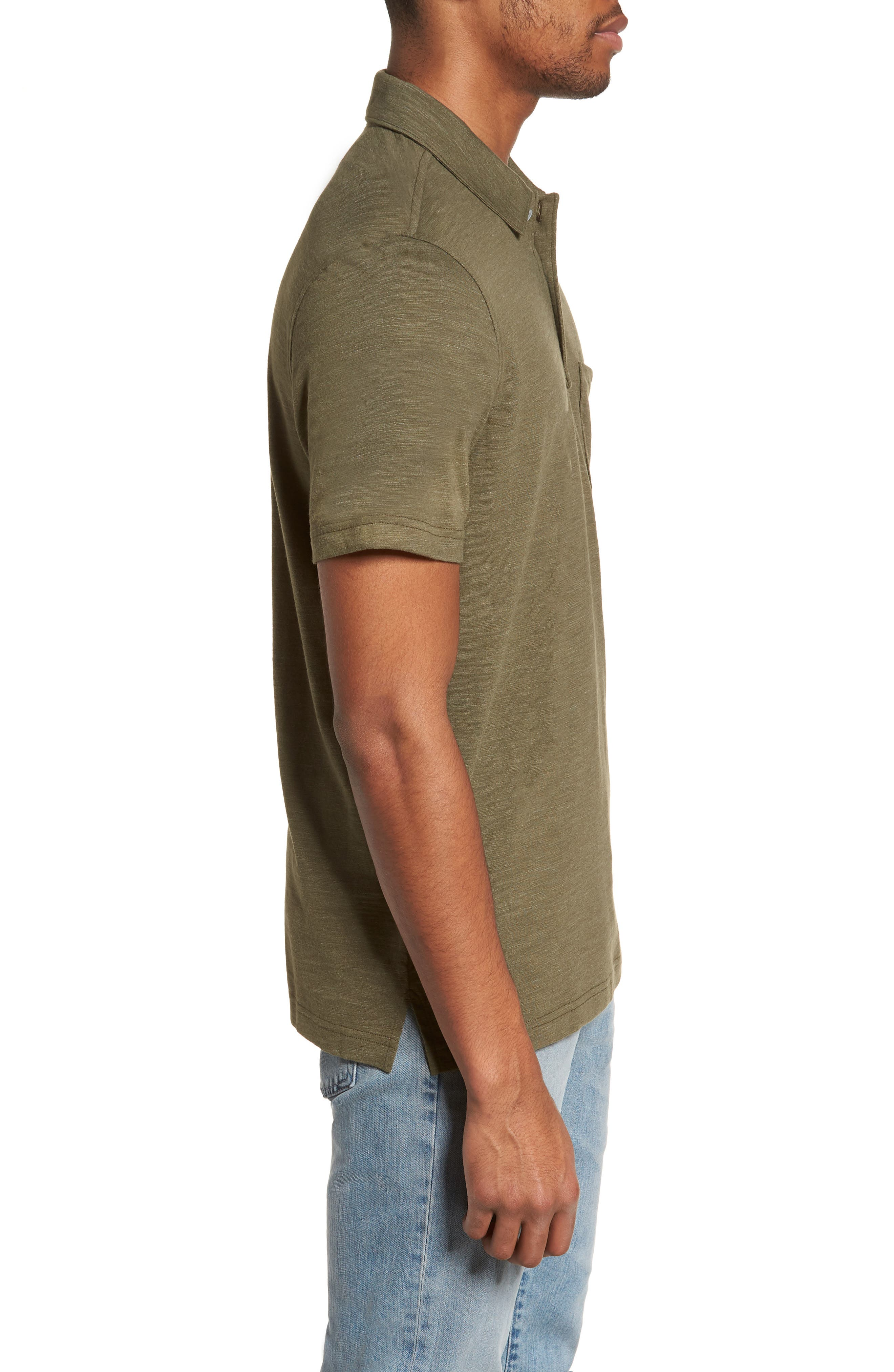 Space Dyed Pocket Polo,                             Alternate thumbnail 16, color,