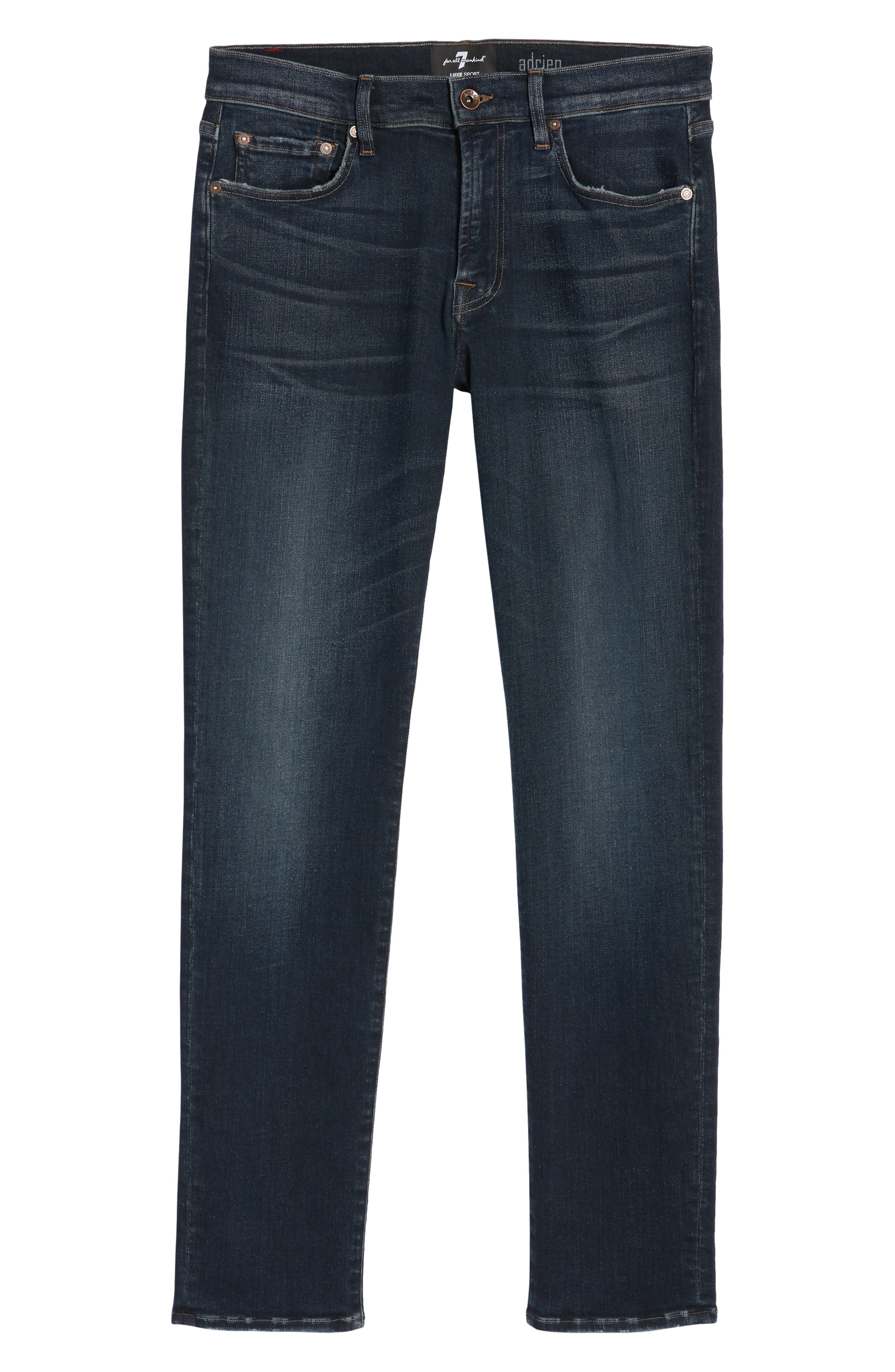 Adrien Slim Fit Jeans,                             Alternate thumbnail 6, color,