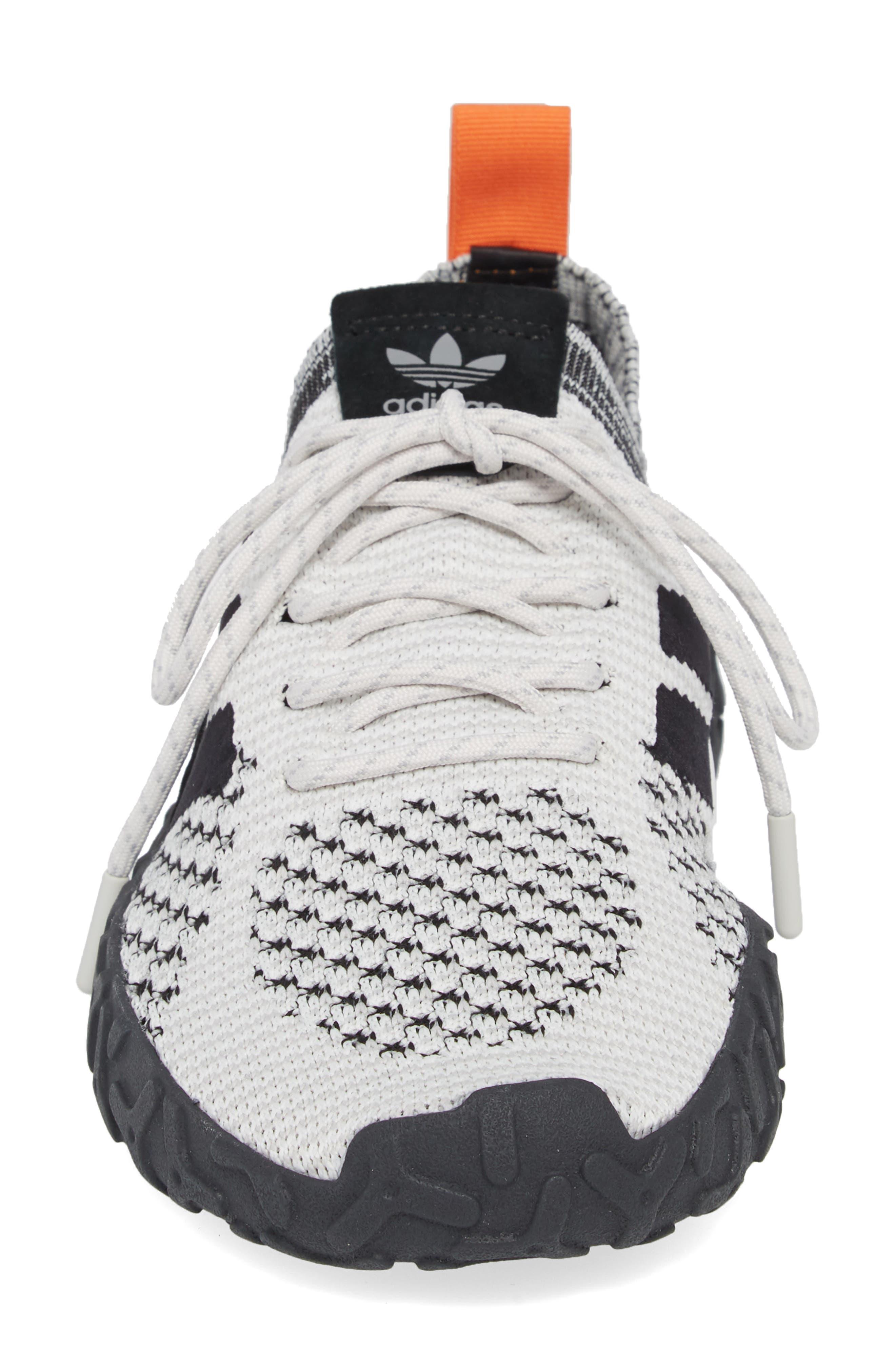 ADIDAS,                             F22 Primeknit Sneaker,                             Alternate thumbnail 4, color,                             005