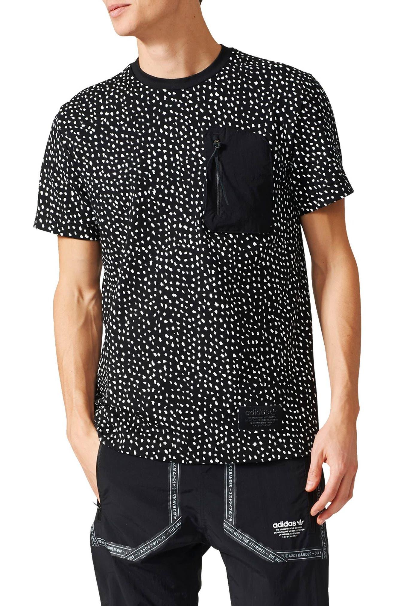 ADIDAS ORIGINALS NMD T-Shirt, Main, color, 001