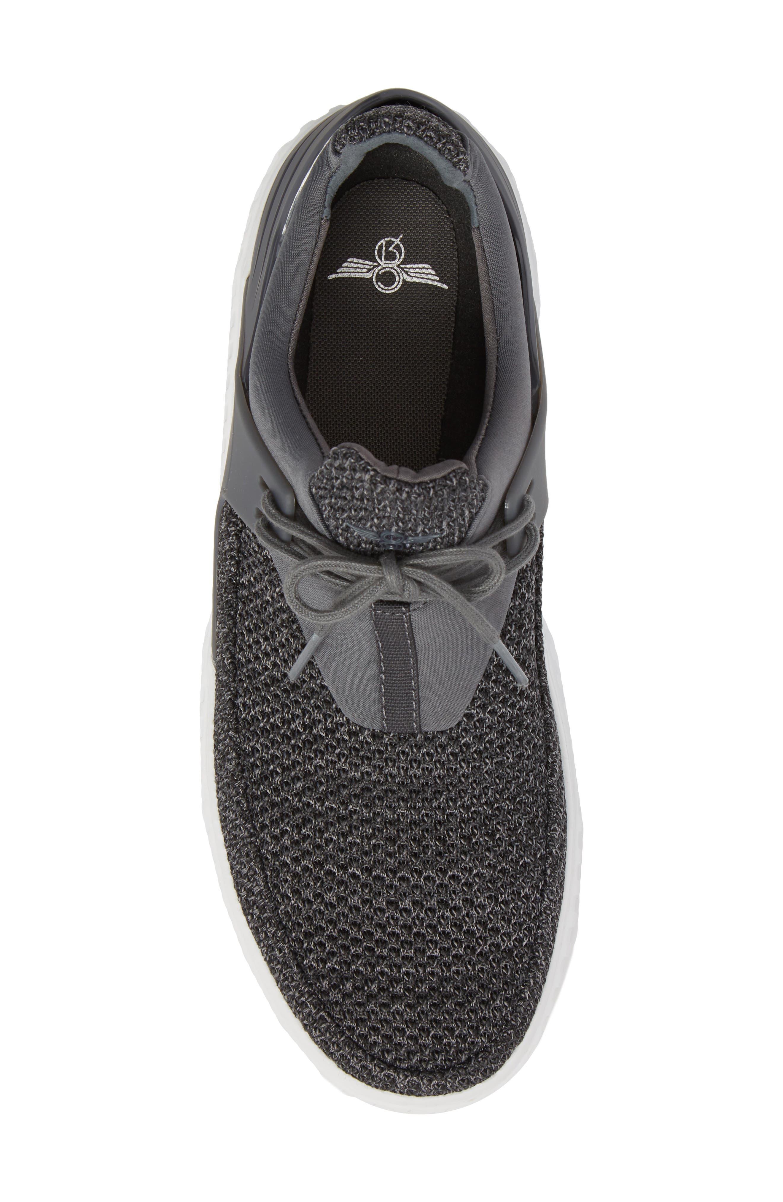 Castucci Knit Sneaker,                             Alternate thumbnail 5, color,                             021