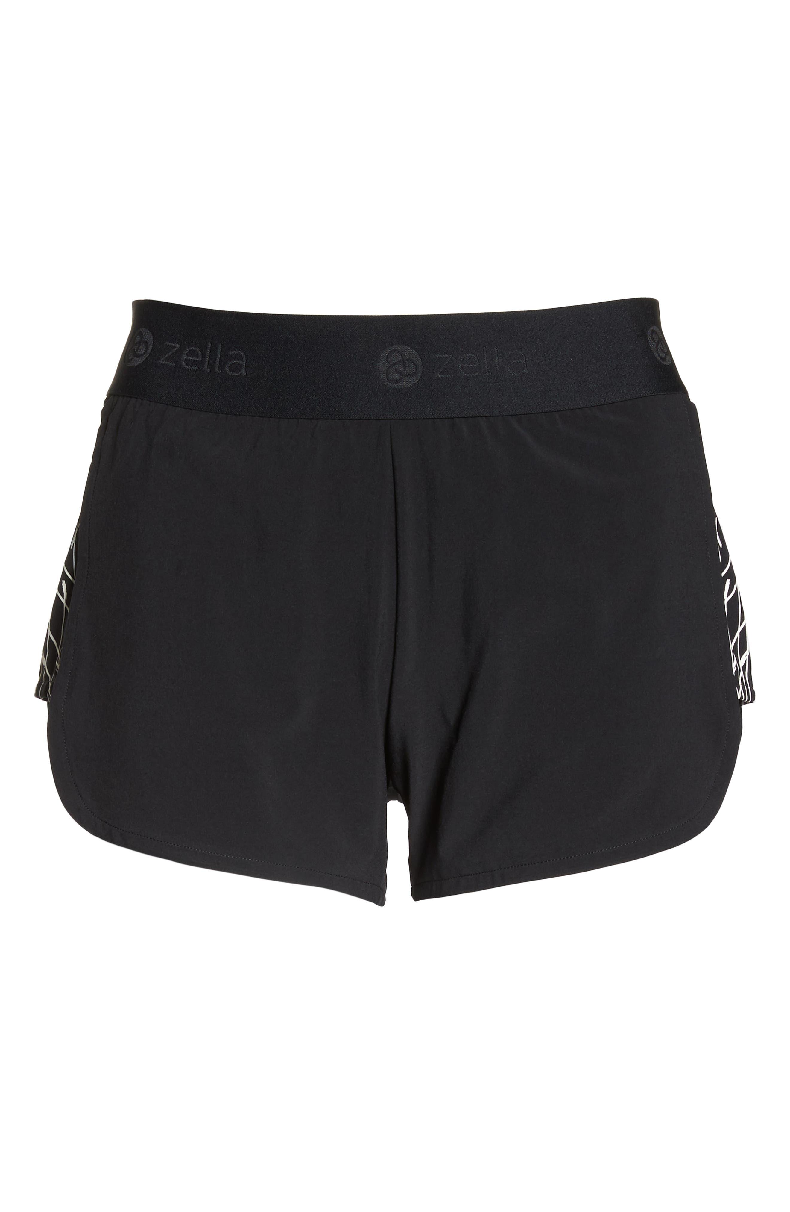 Go Run Reflect Shorts,                             Alternate thumbnail 7, color,                             001