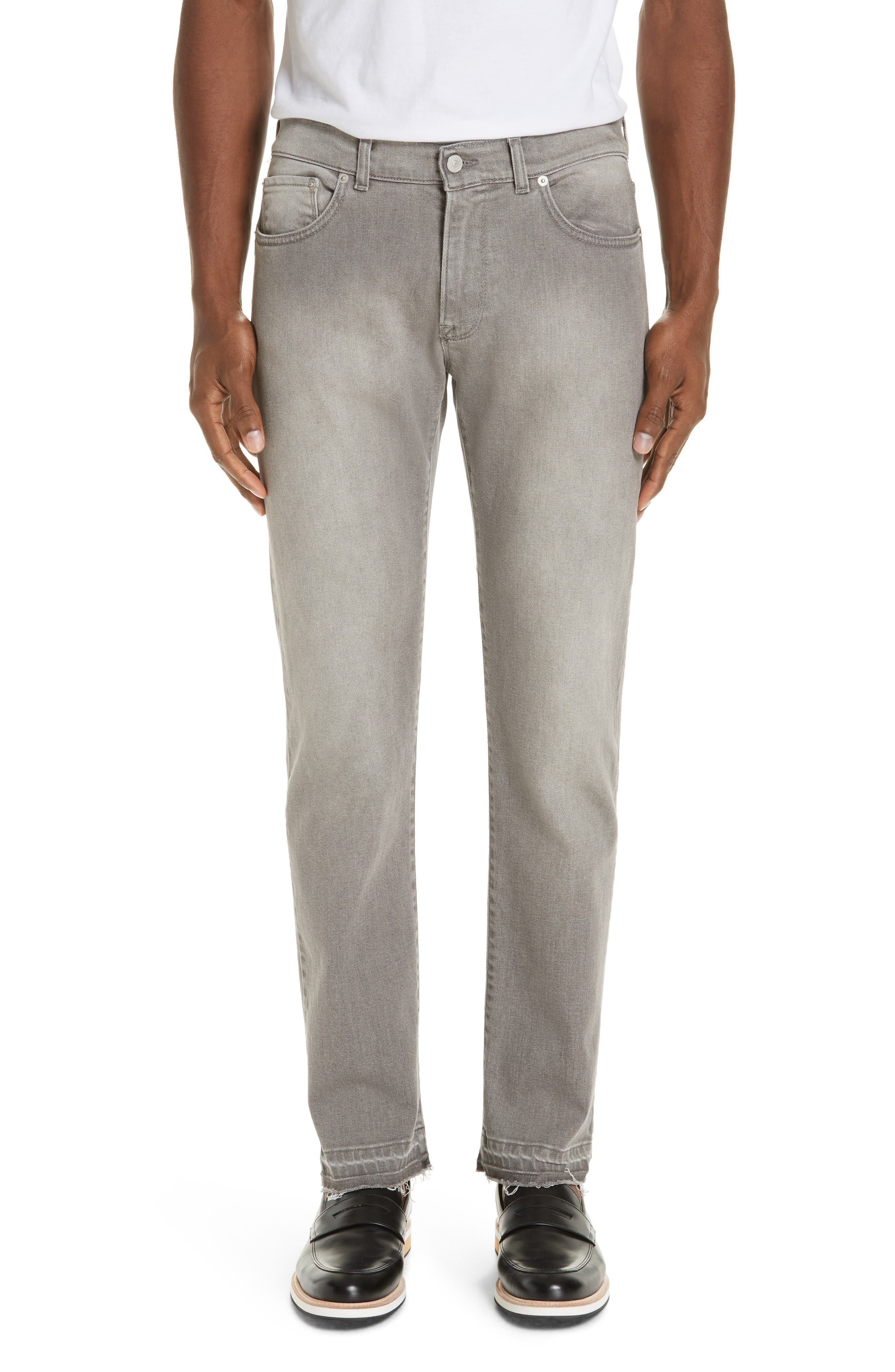 EIDOS Raw Edge Jeans in Grey