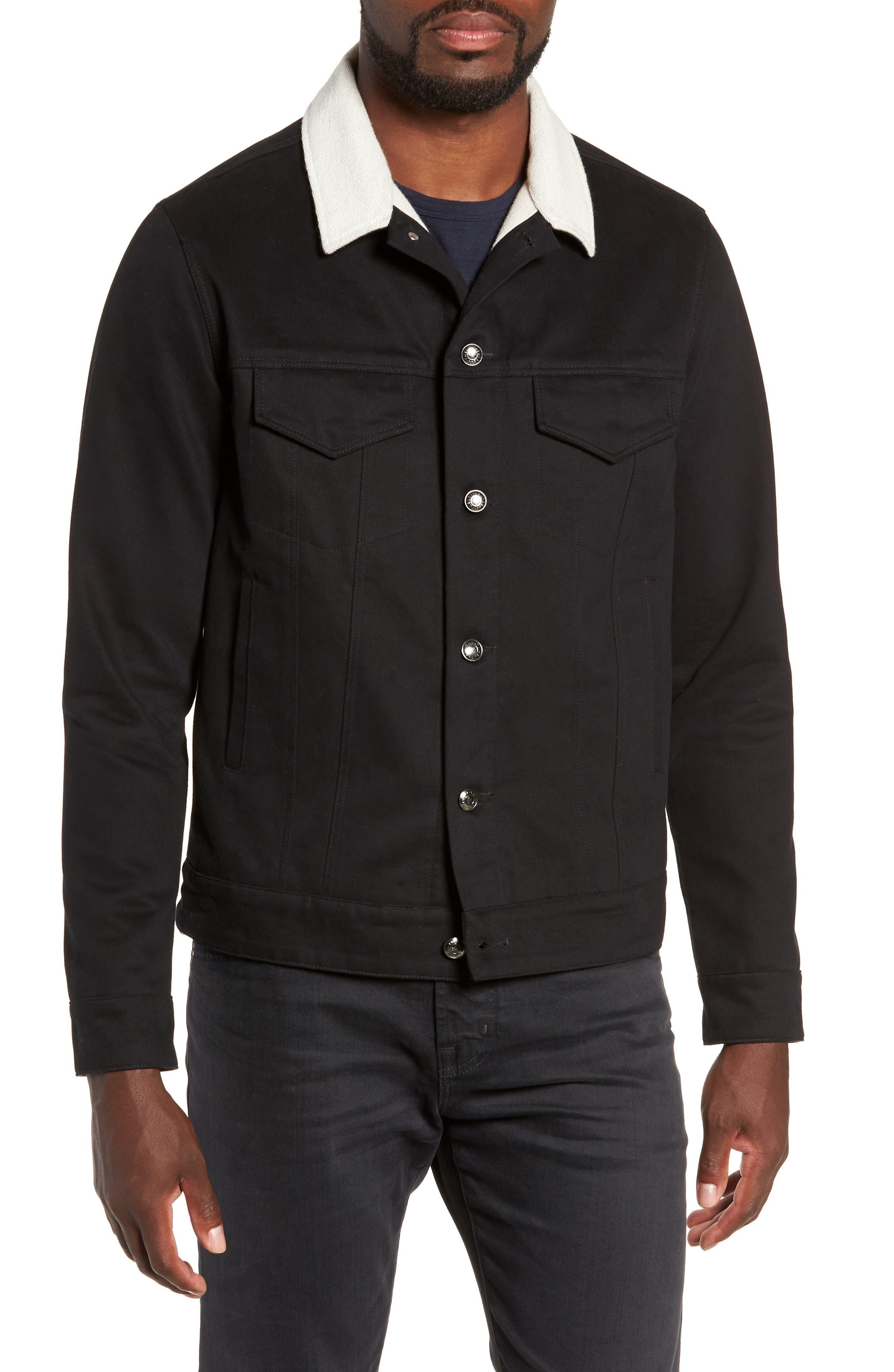 Webster Workman Jacket,                             Alternate thumbnail 4, color,                             BLACK